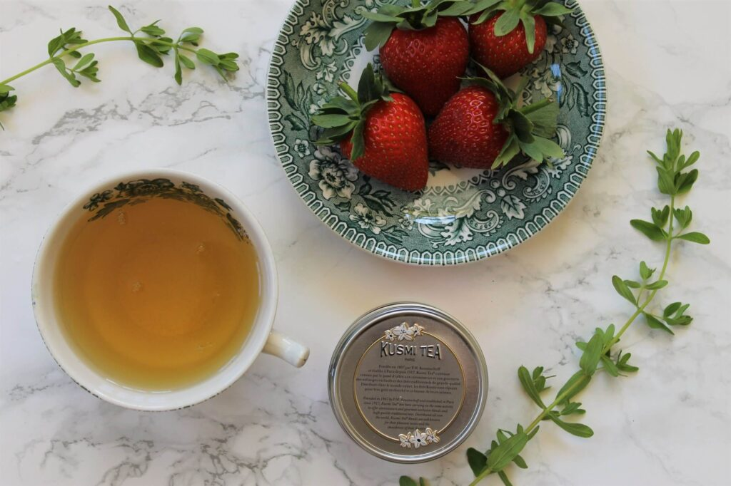 Kusmi Green Tea with Strawberry Review