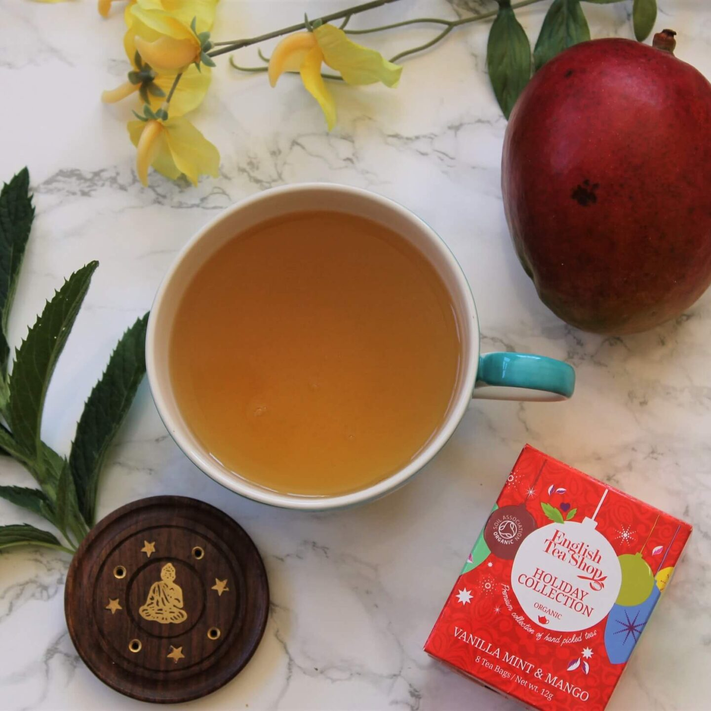 English Tea Shop Vanilla, Mint and Mango Tea Review