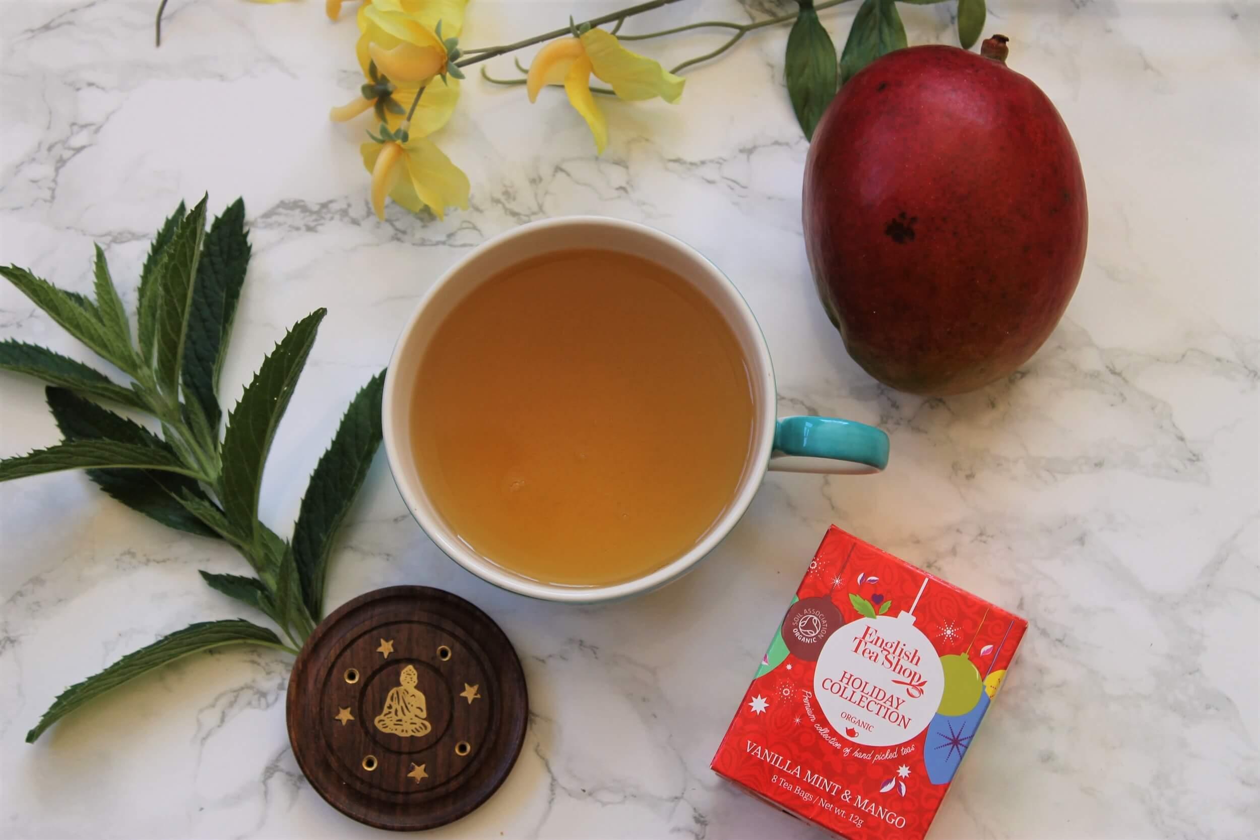 English Tea Shop Vanilla, Mint and Mango Tea Review