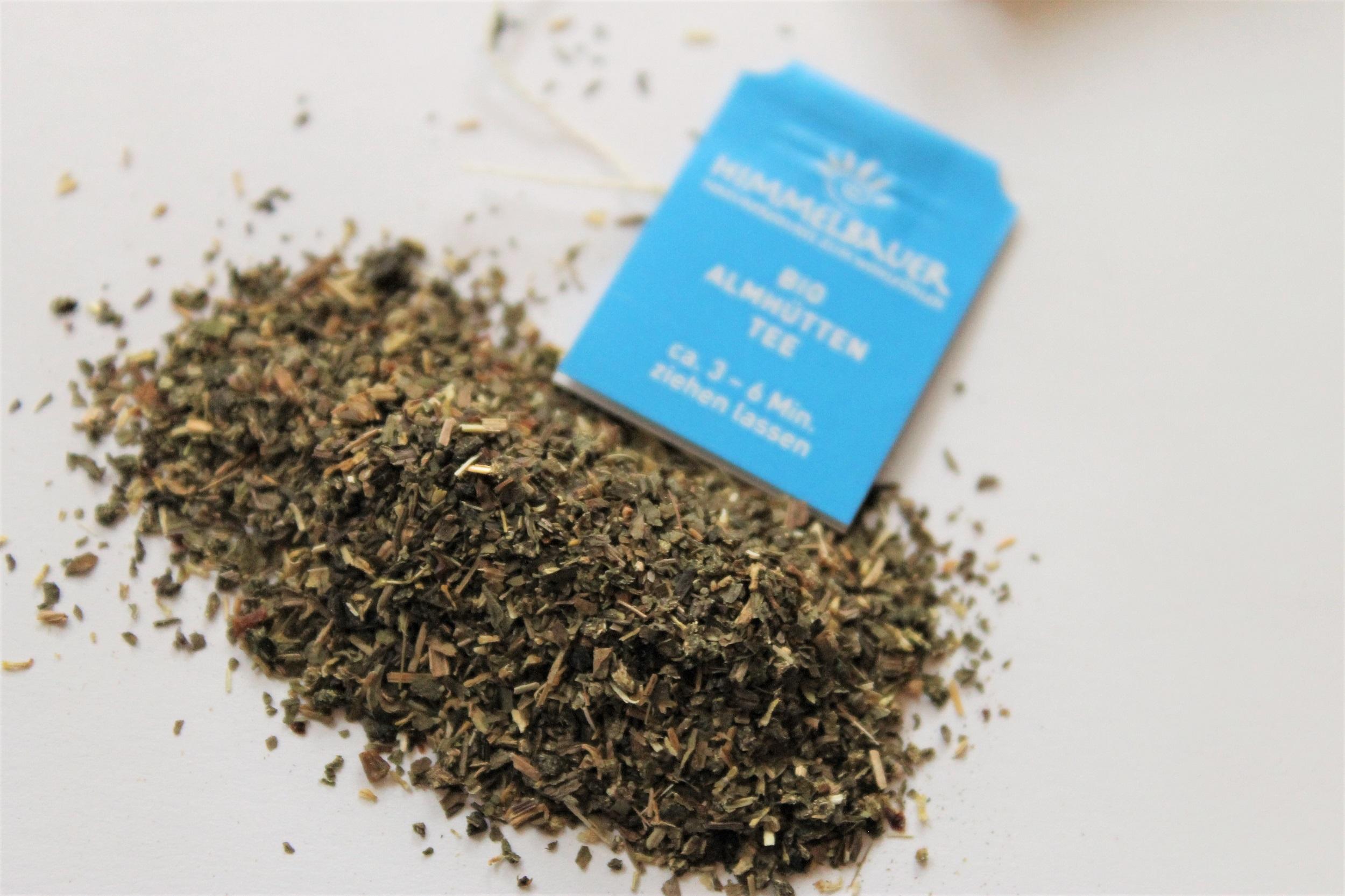 alpine hut herbal tea