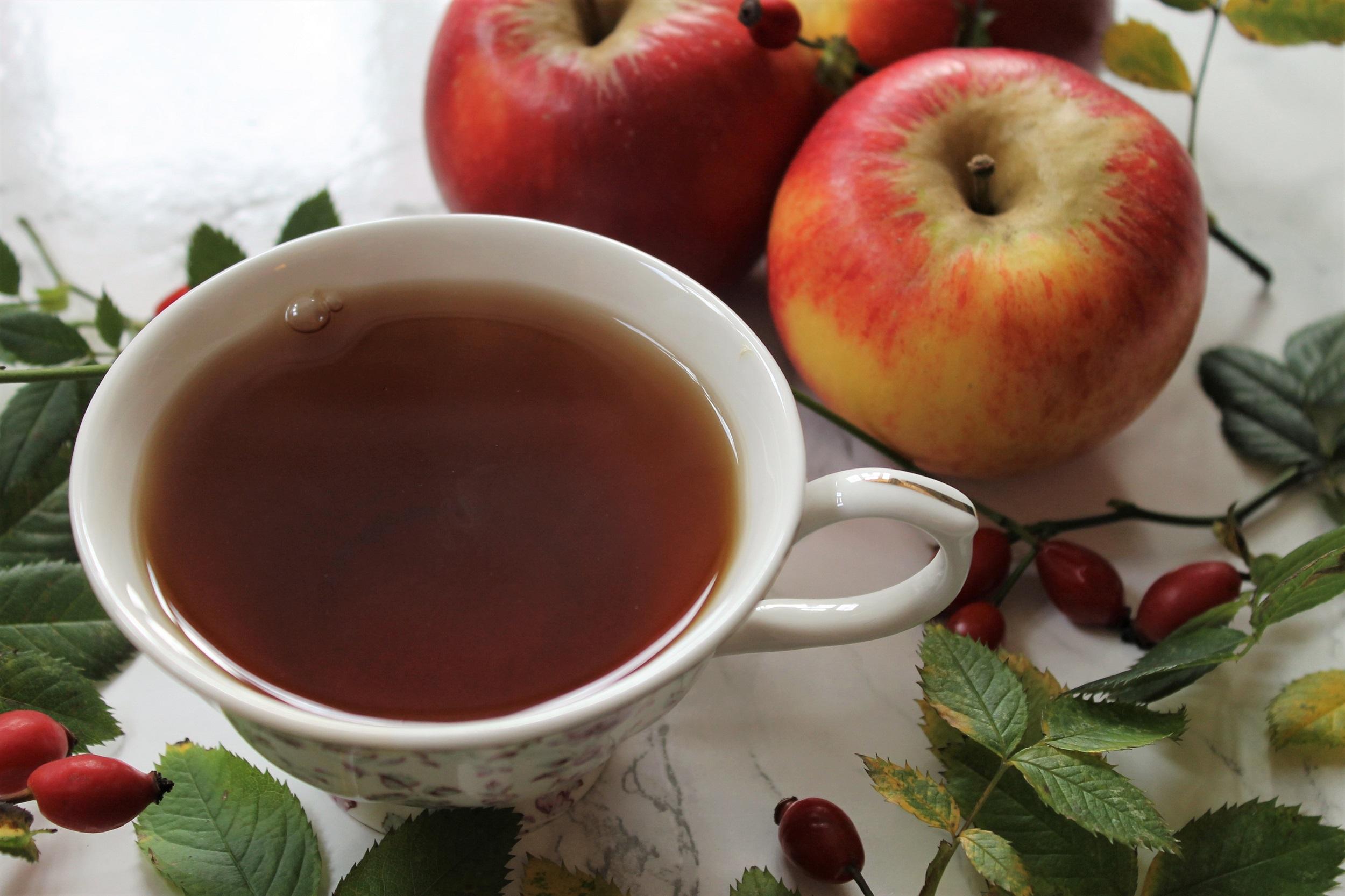 kali laska tea with fruit