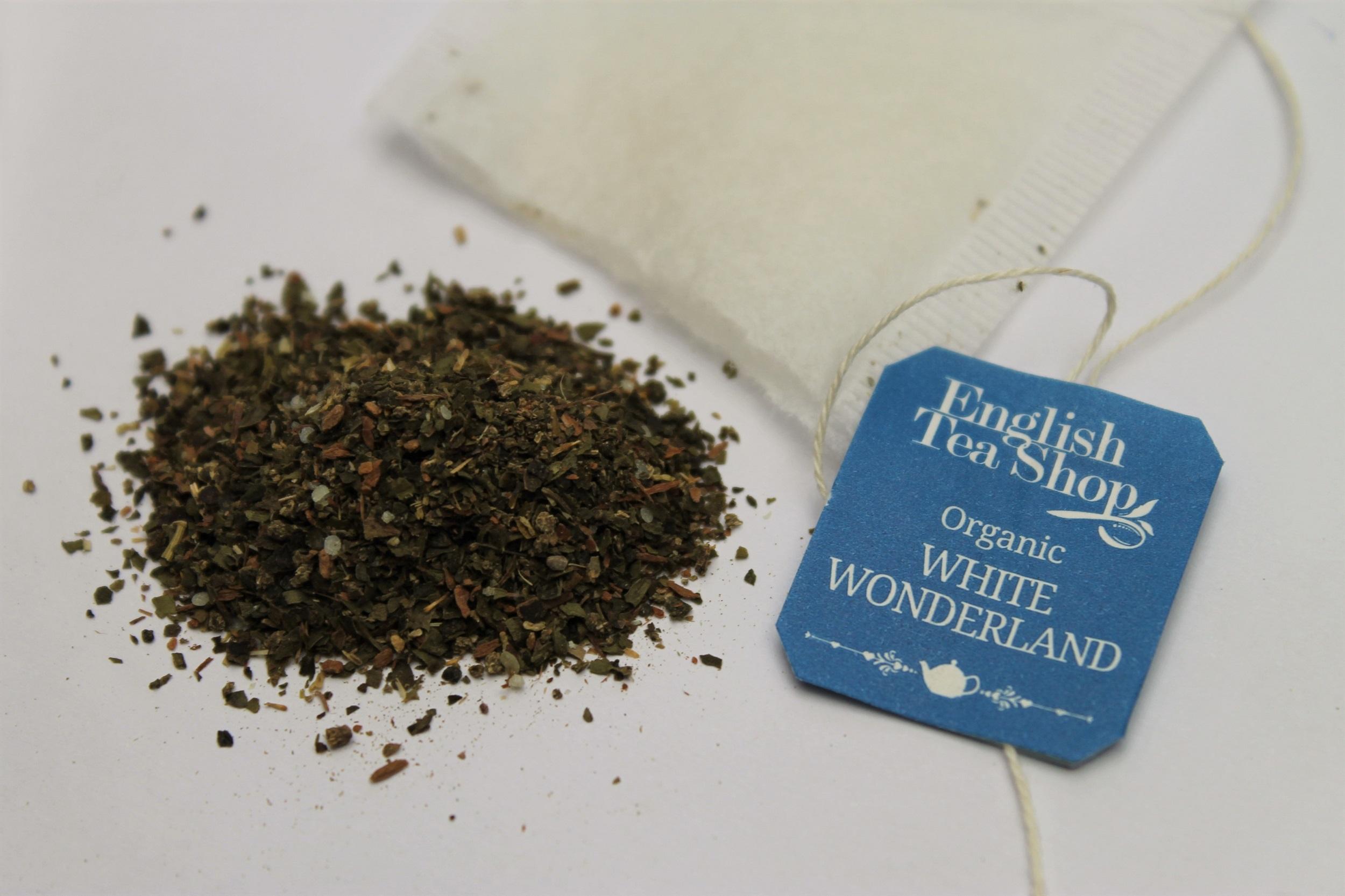 loose leaf white tea blend
