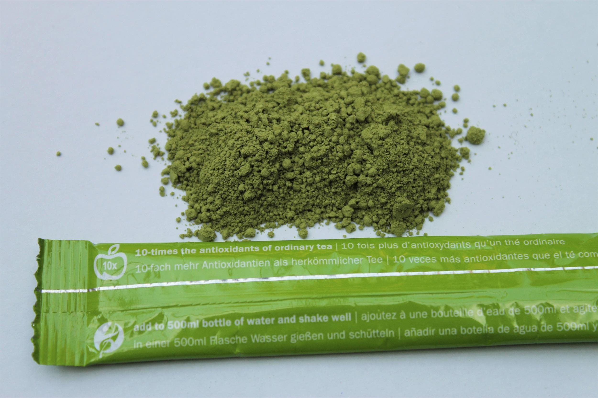 traditional matcha powder