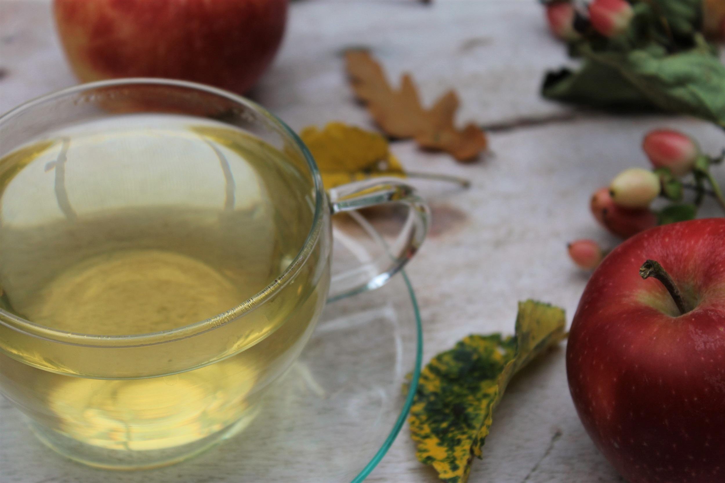 autumn flush green tea