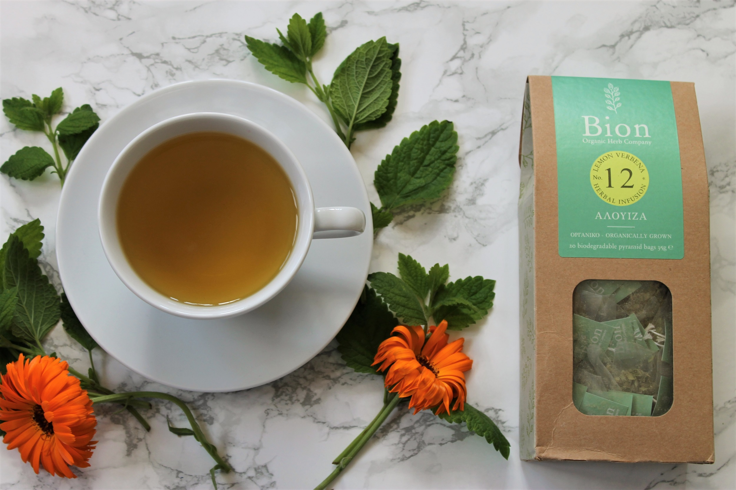 Bion Lemon Verbena Tea Review