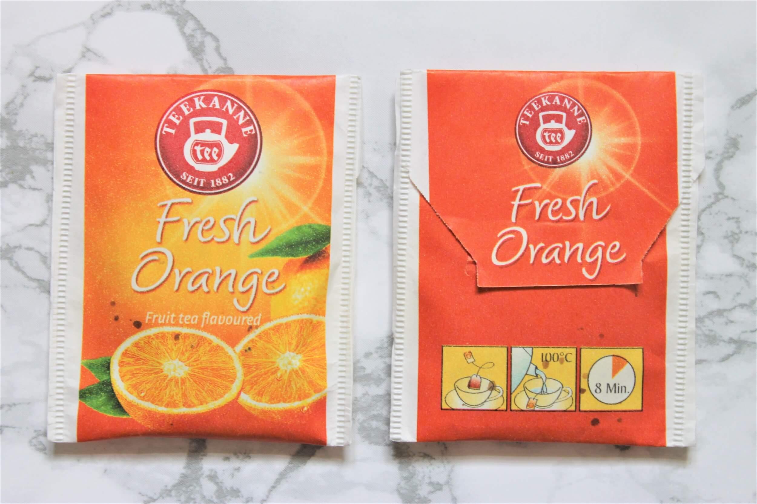 teekanne fresh orange tea bags