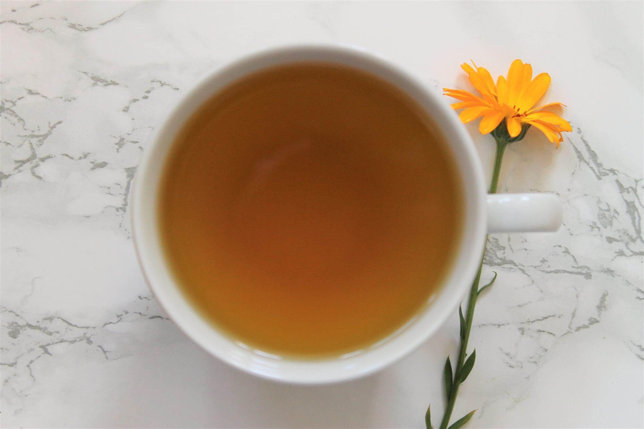 tumeric with citrus tea cup
