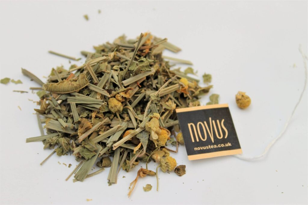 novus tea chamomile whole leaf