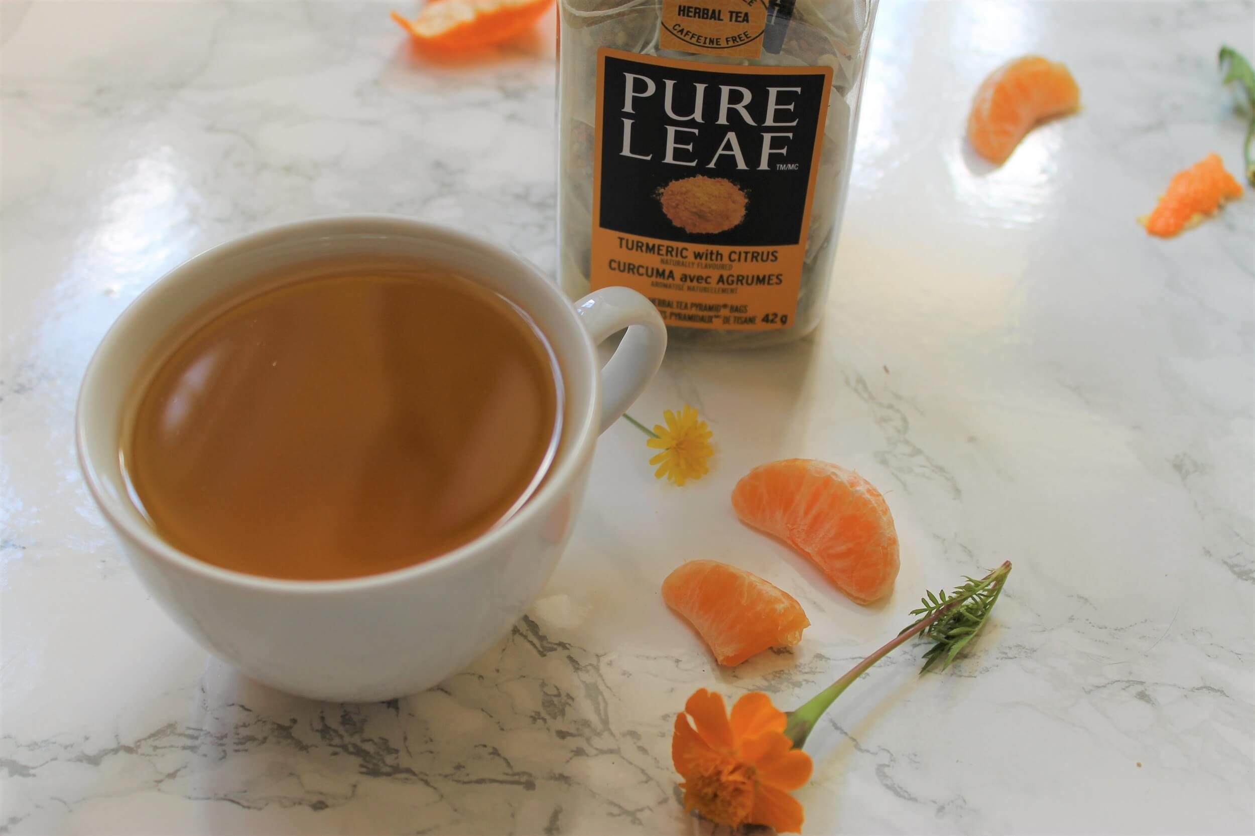 orange tumeric tea review