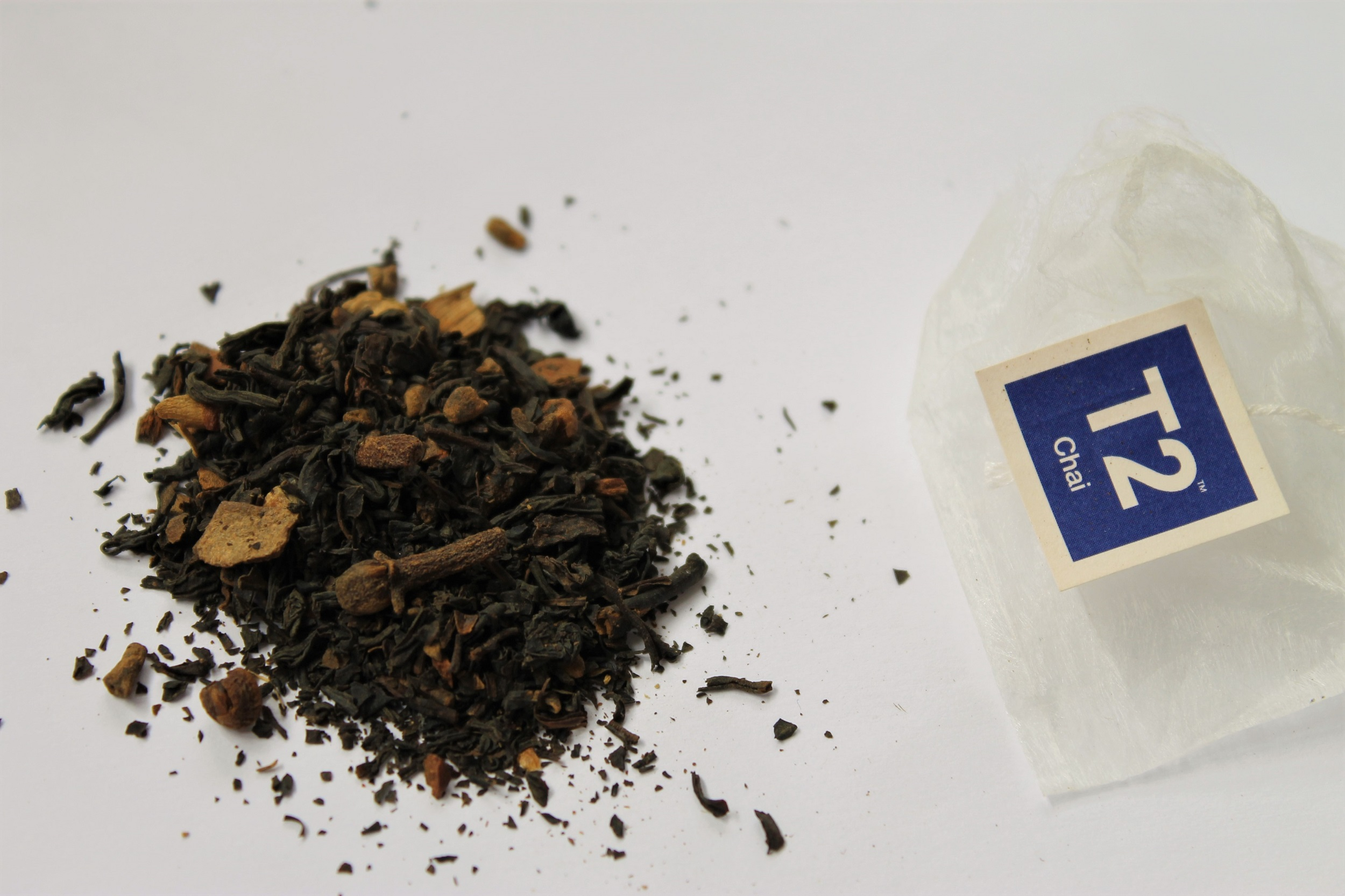 black tea with cloves and spices