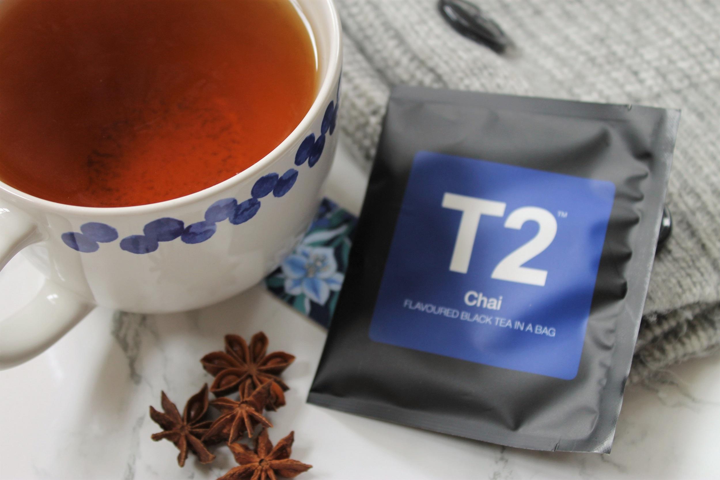 chai tea with star anise