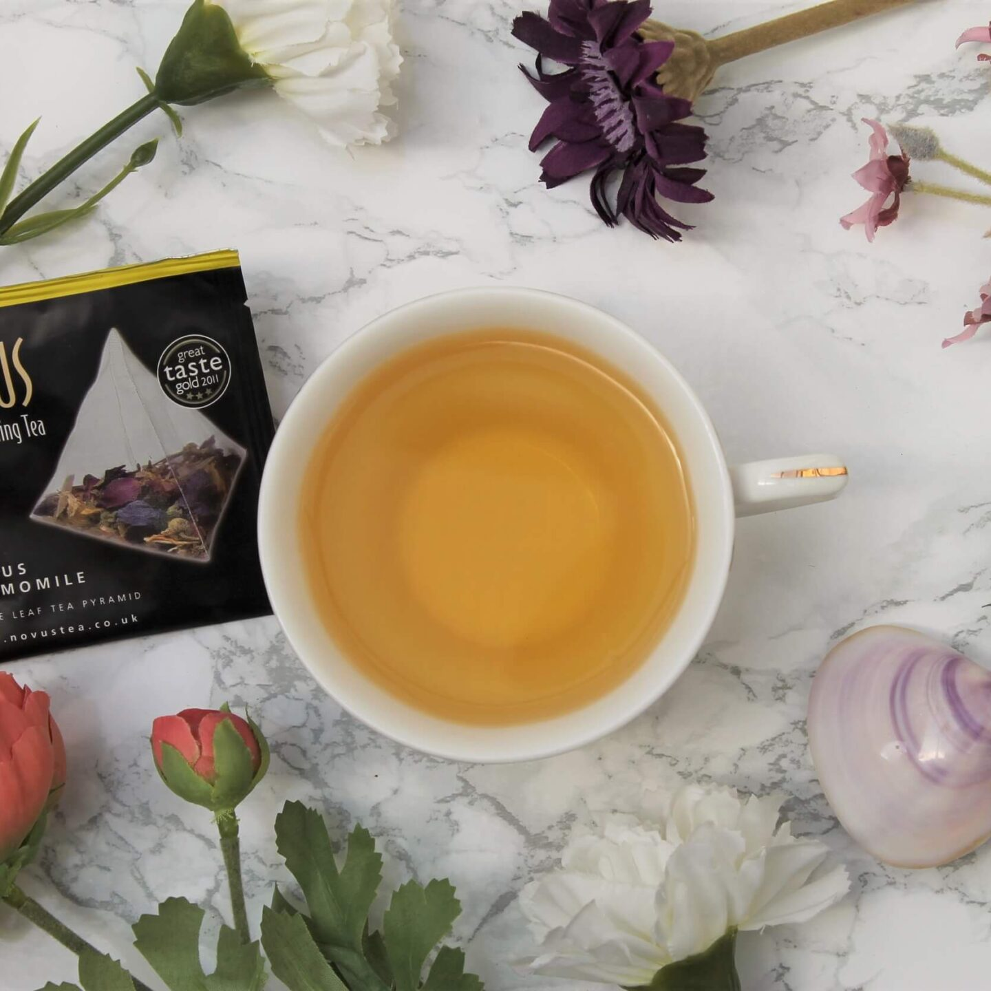 Novus Citrus Chamomile Tea Review