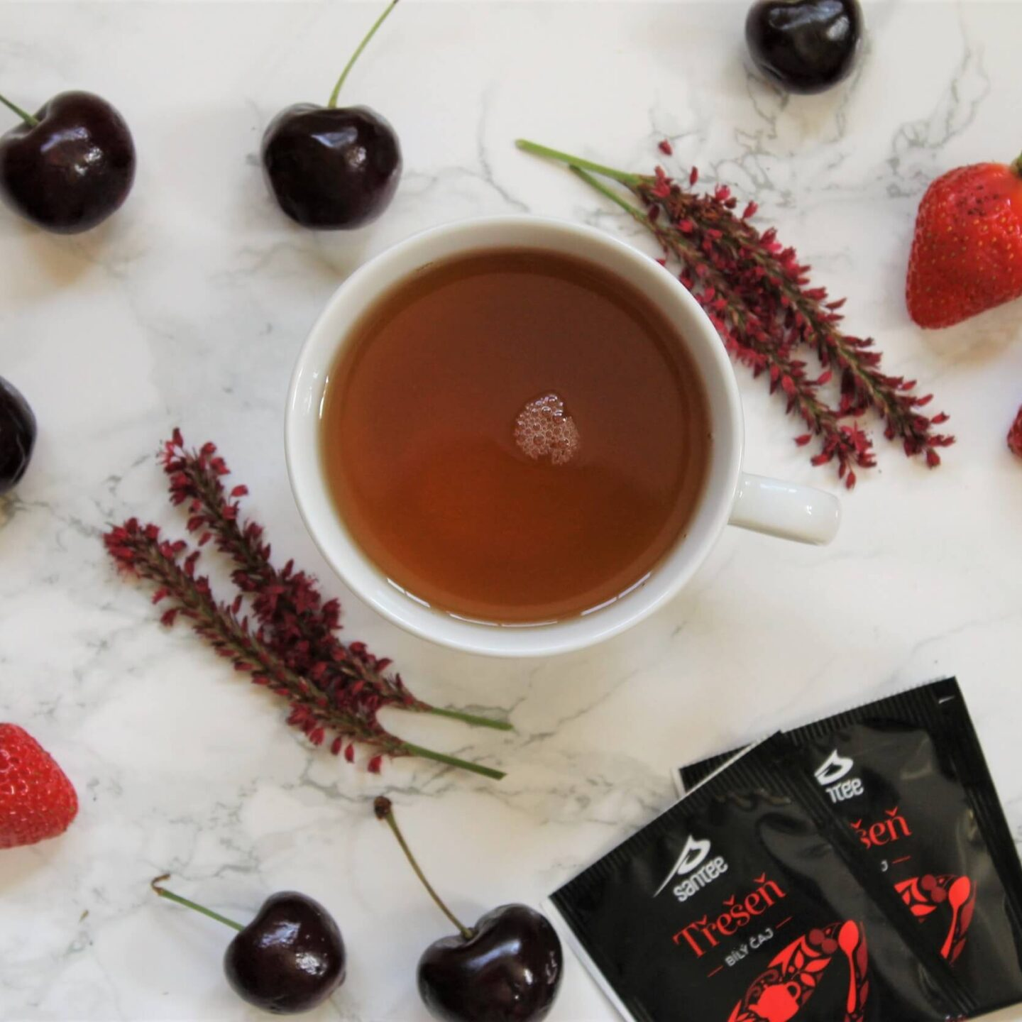 Santée White Tea and Cherry Review