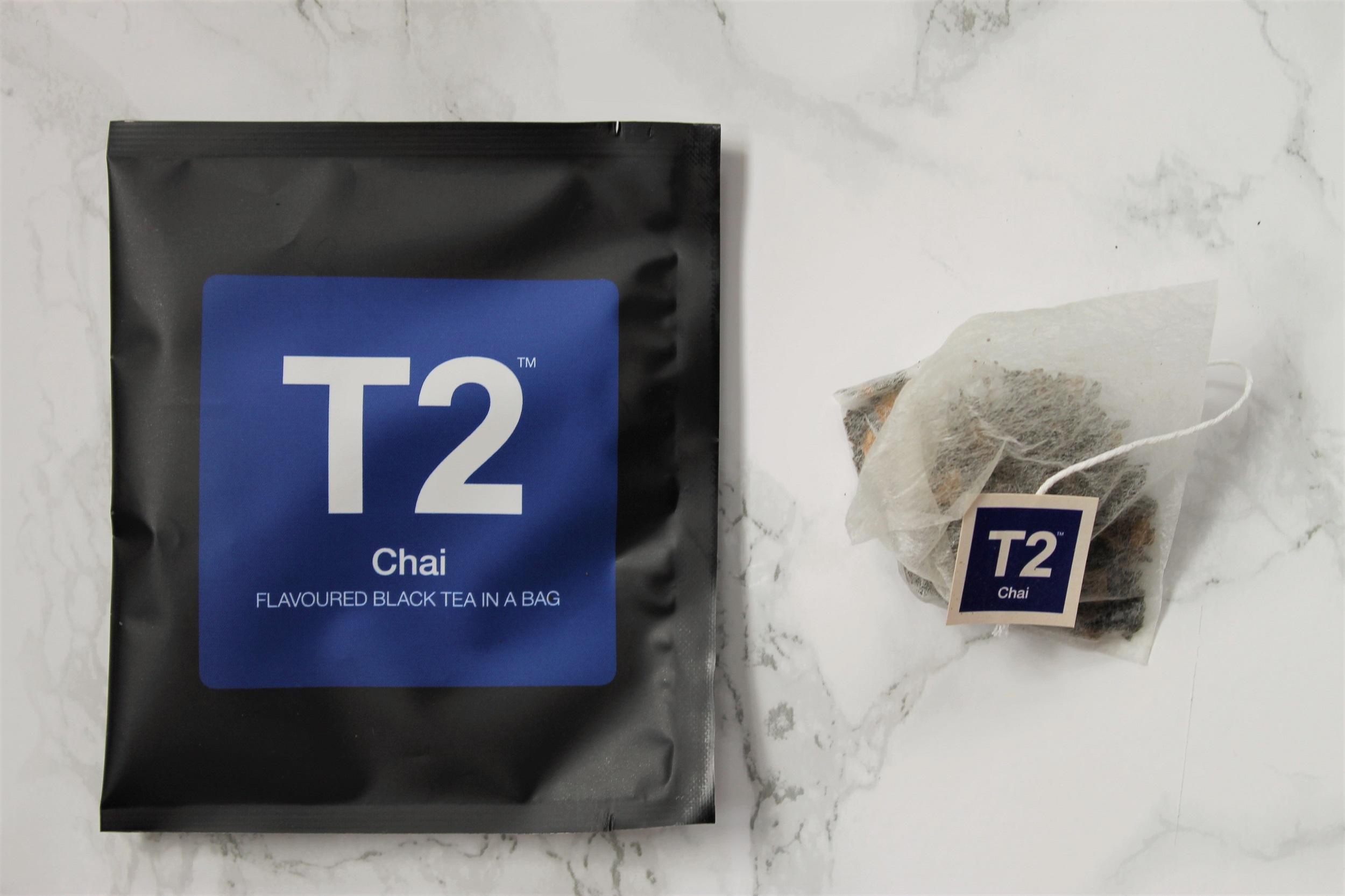 t2 chai tea bags
