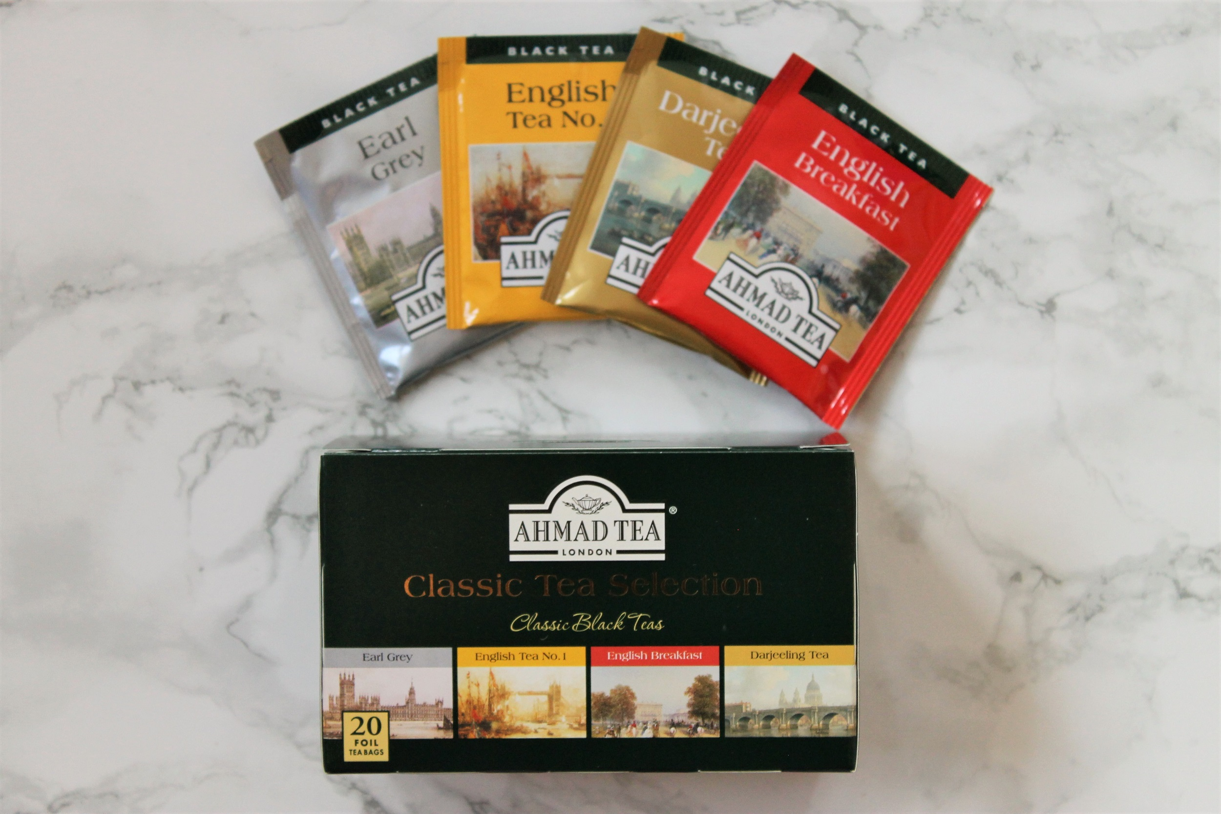 ahmad classic tea selection box