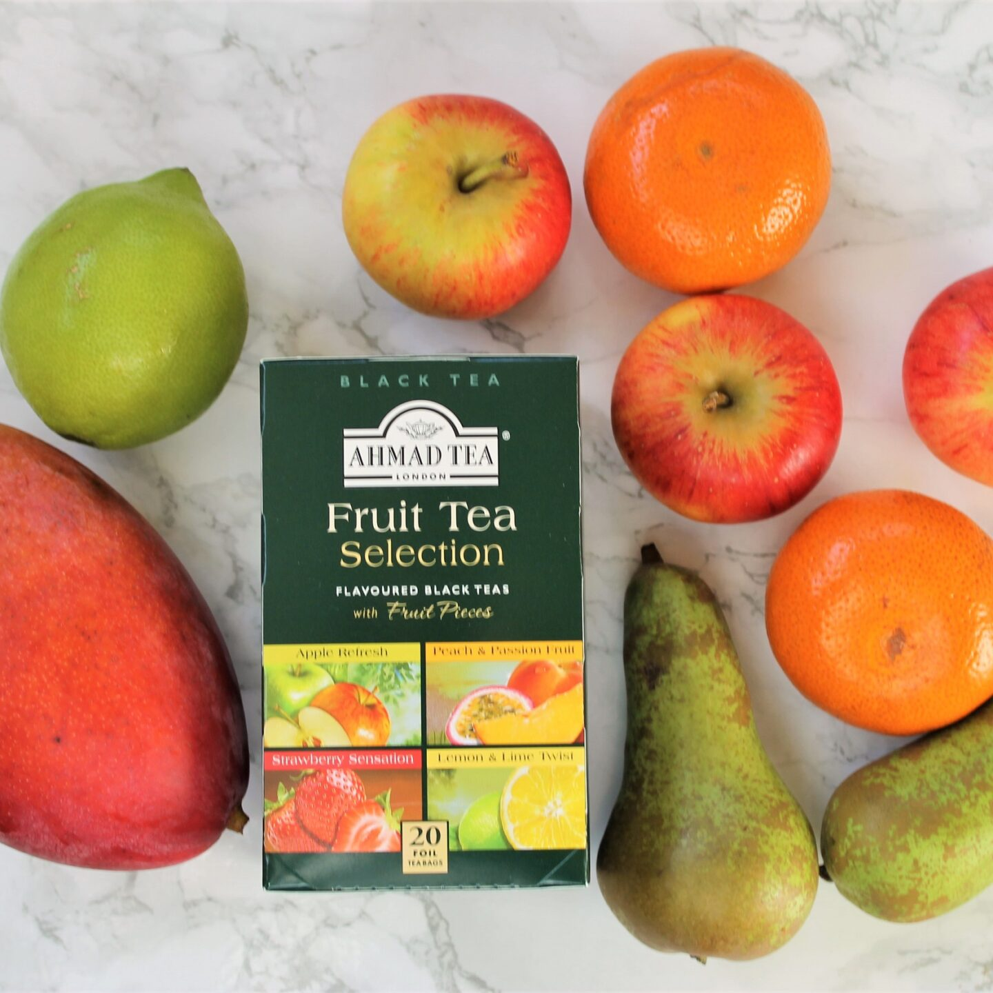 Ahmad Fruit Tea Selection Box Review
