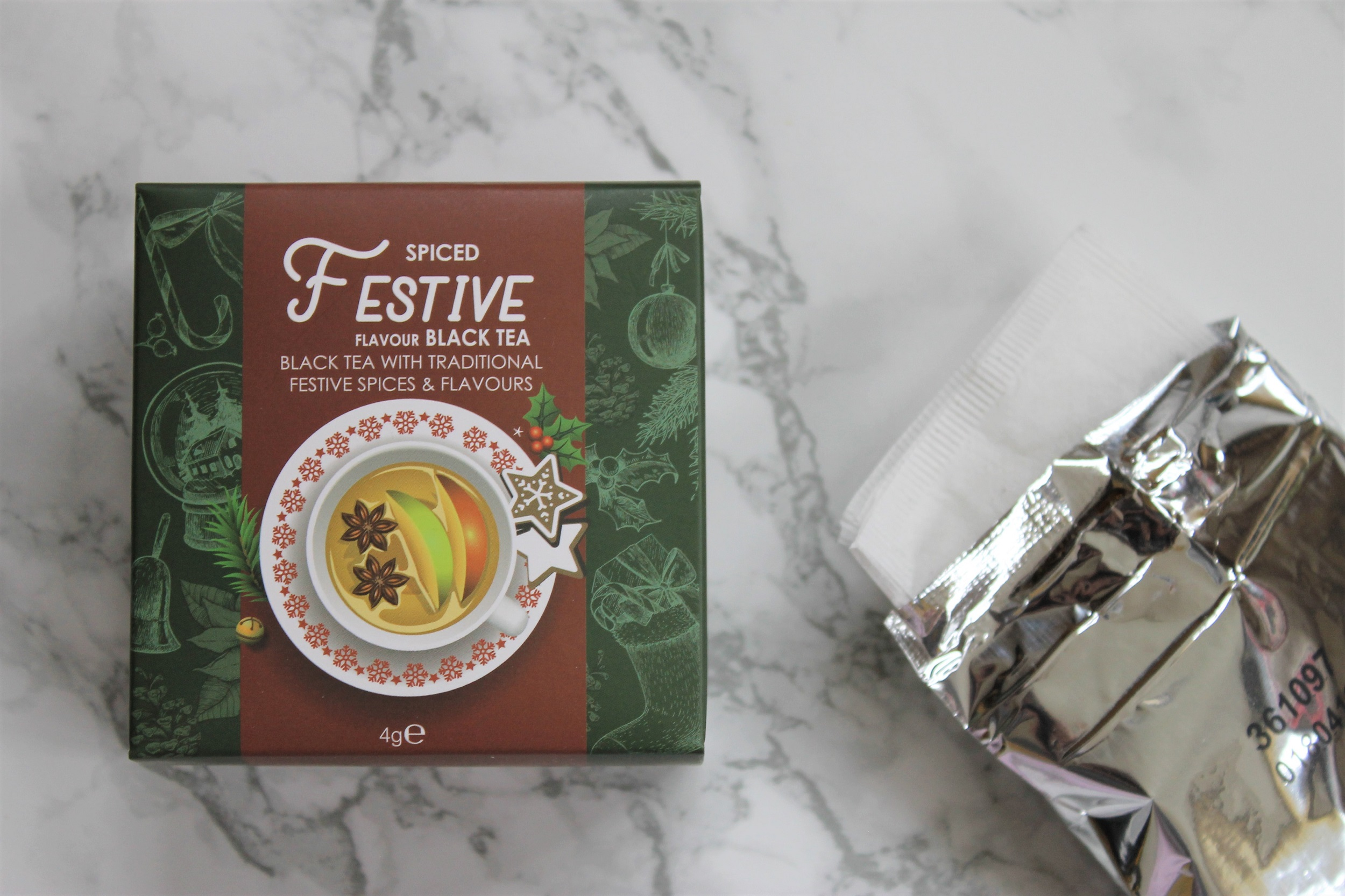 spiced festive black tea