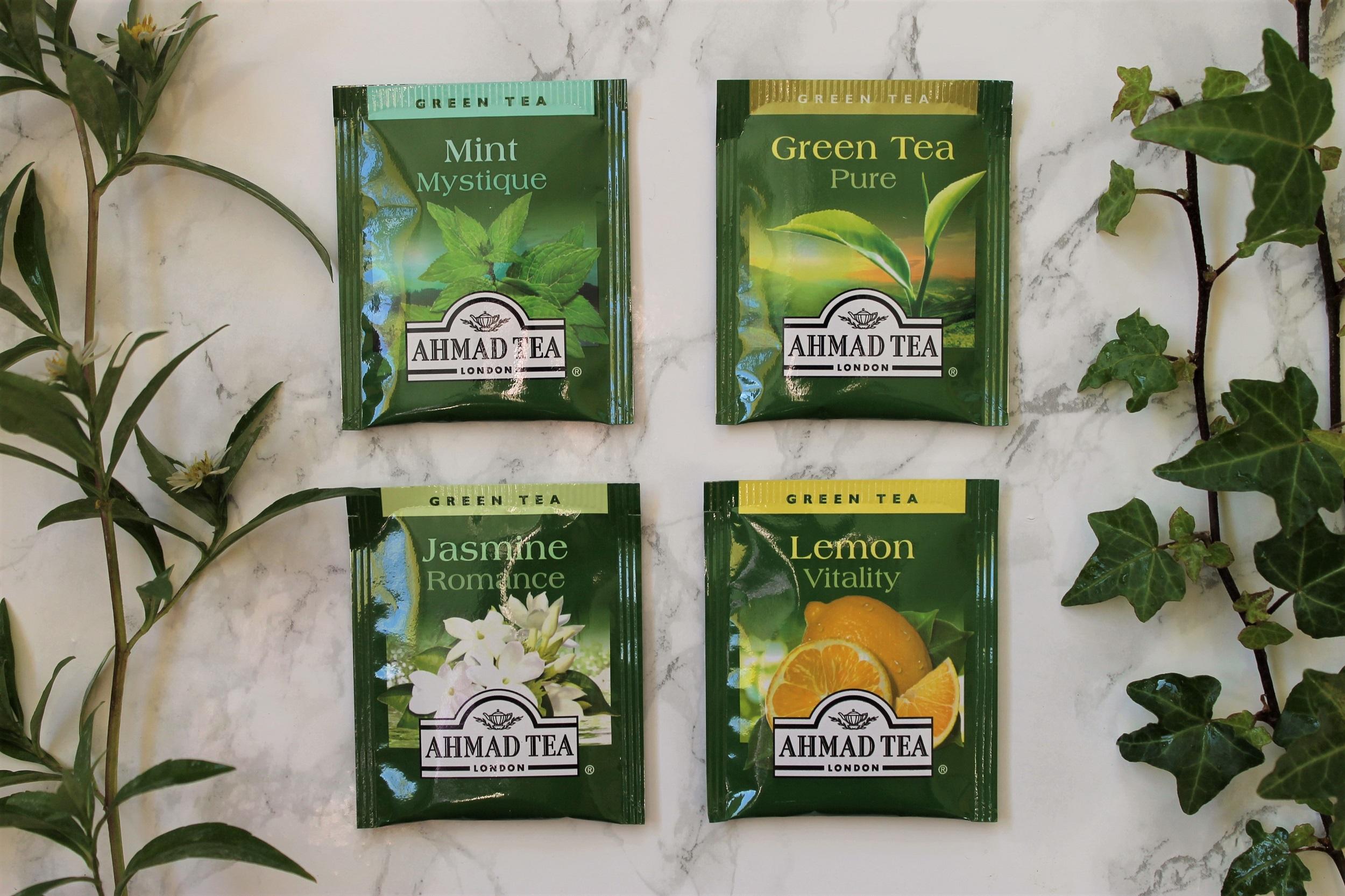 ahmad green tea bags