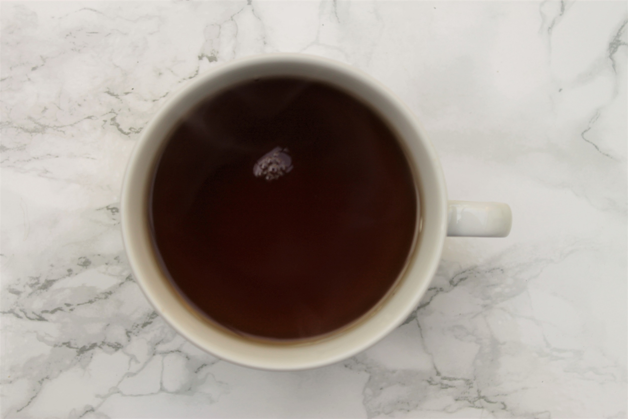 black tea with hibiscus flavouring