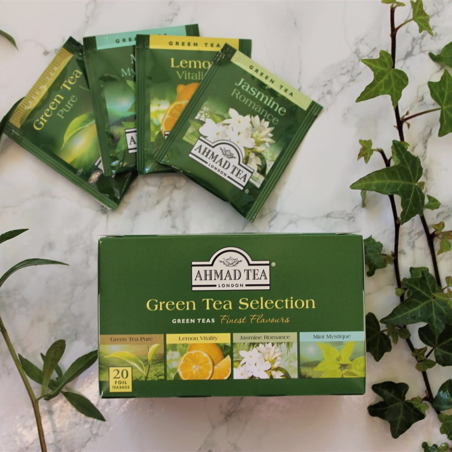 Ahmad Green Tea Selection Box Review