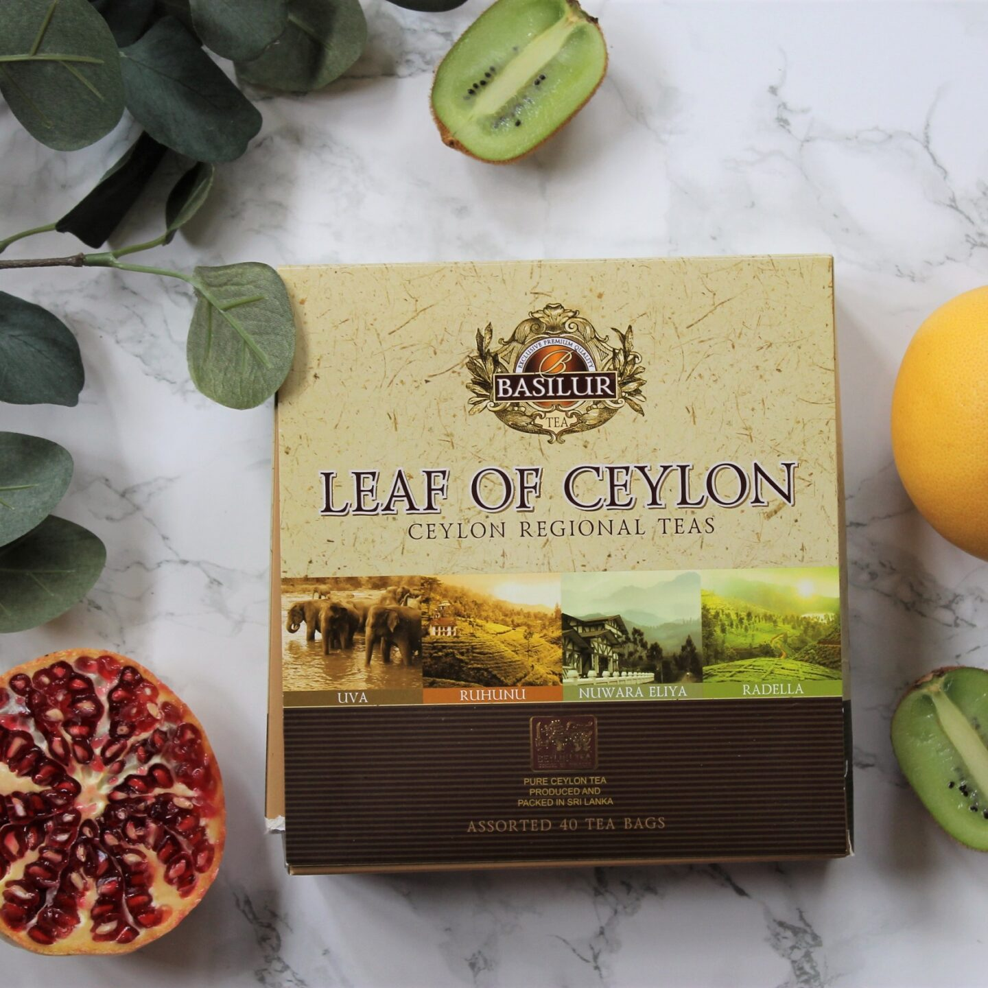 Basilur Leaf of Ceylon Tea Review
