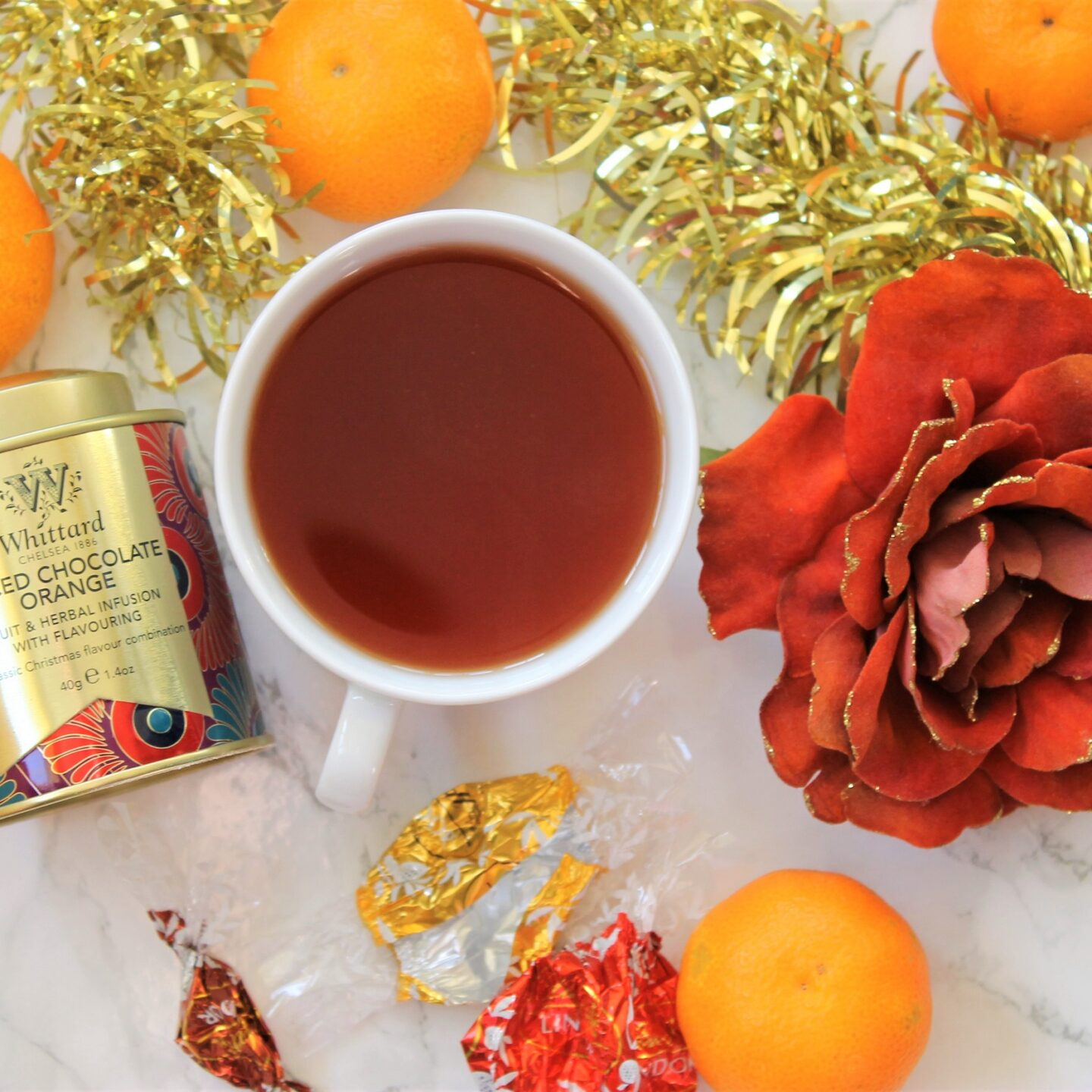Whittard Spiced Chocolate Orange Tea Review