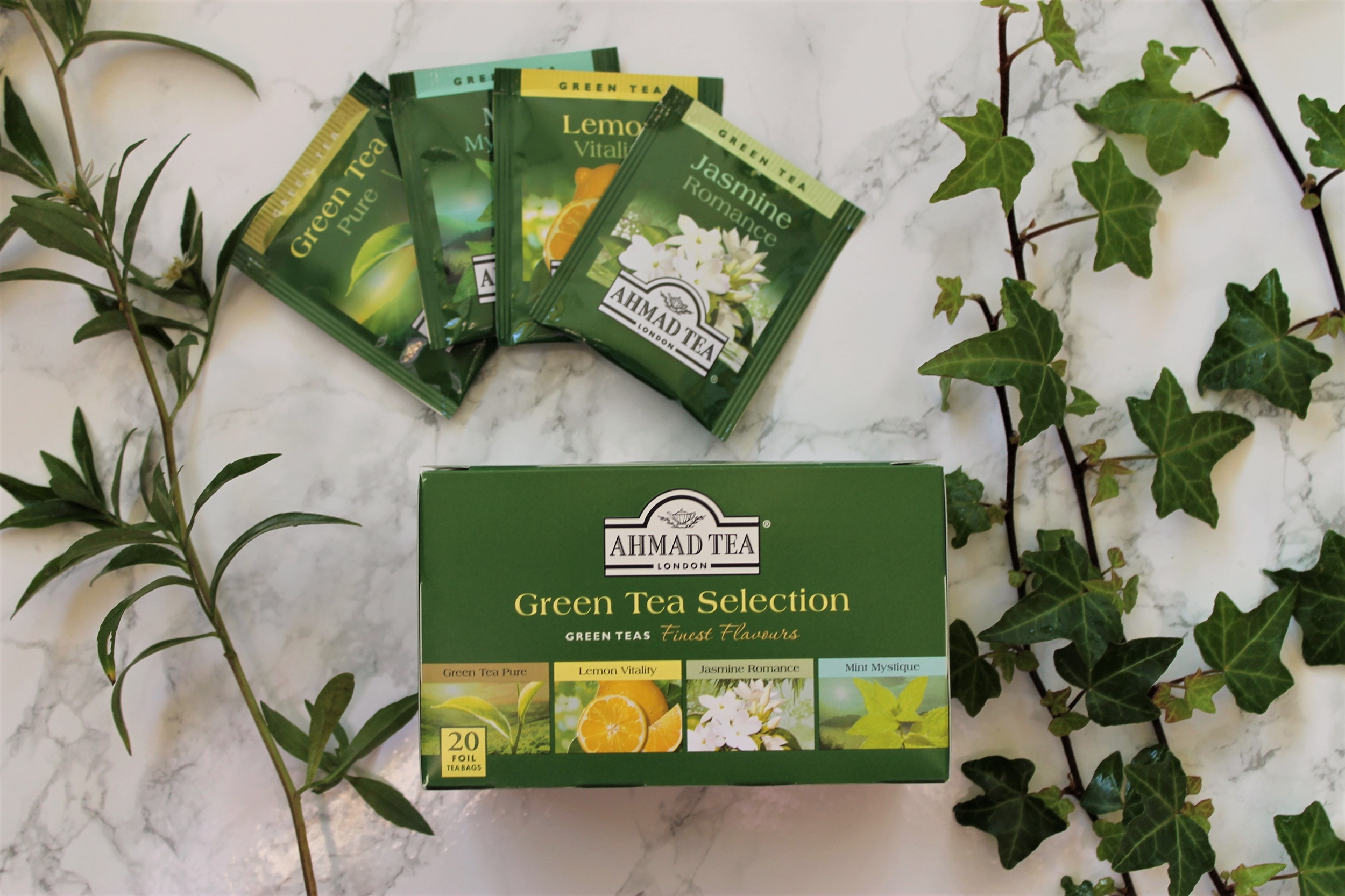 Ahmad Green Tea Selection Box Review