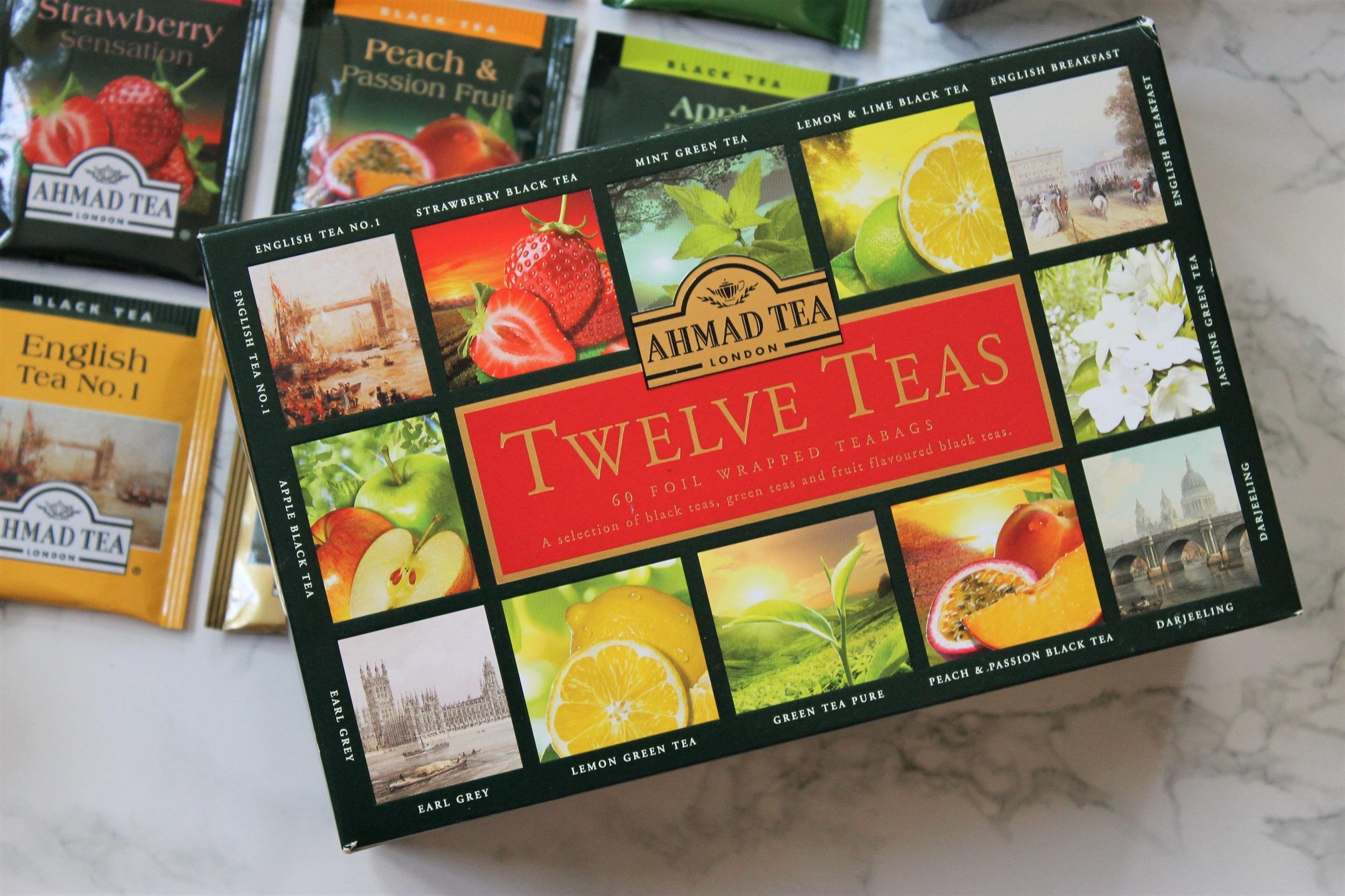 ahmad tea london twelve teas gift box