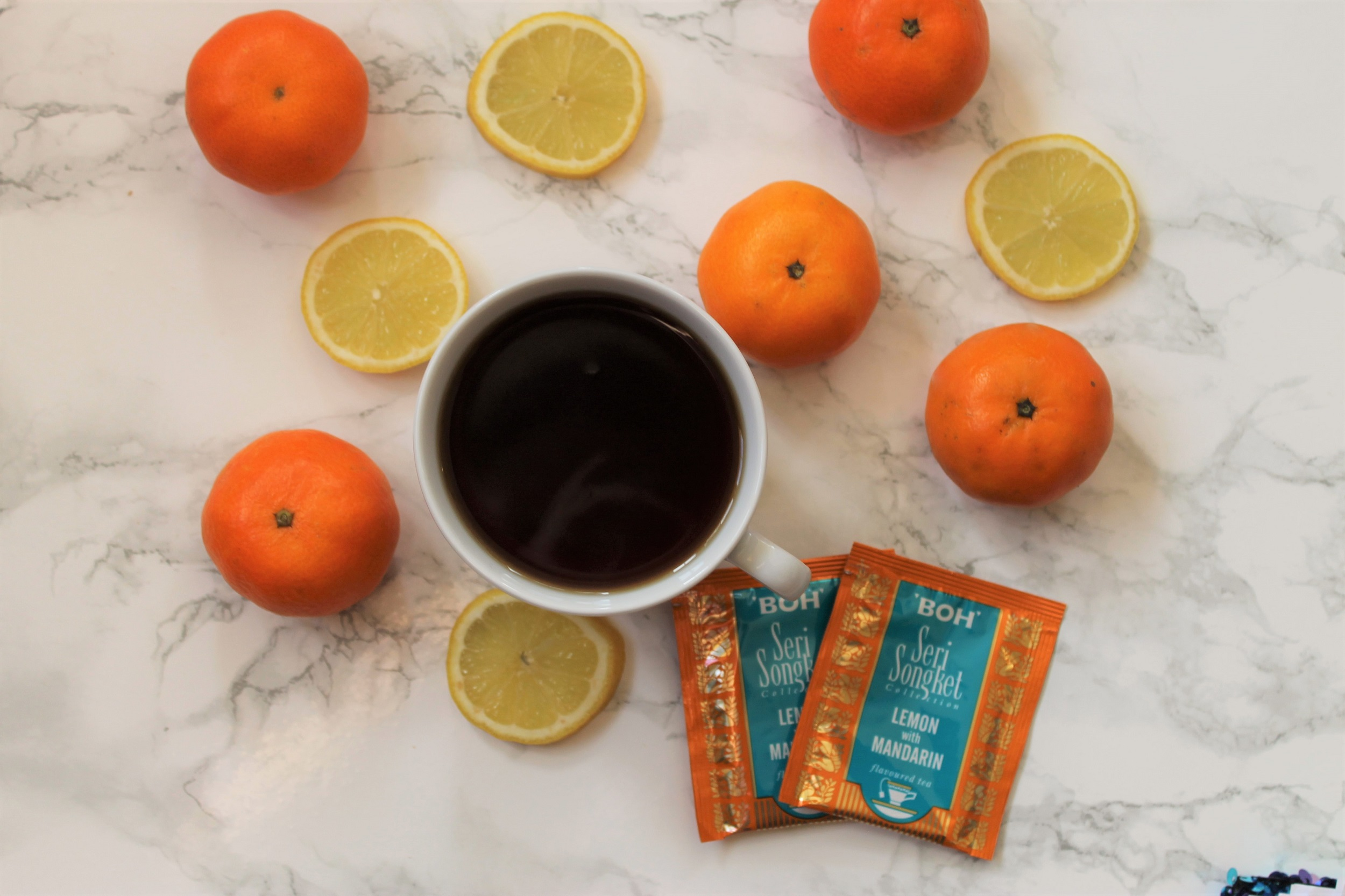 BOH Lemon with Mandarin Tea Review