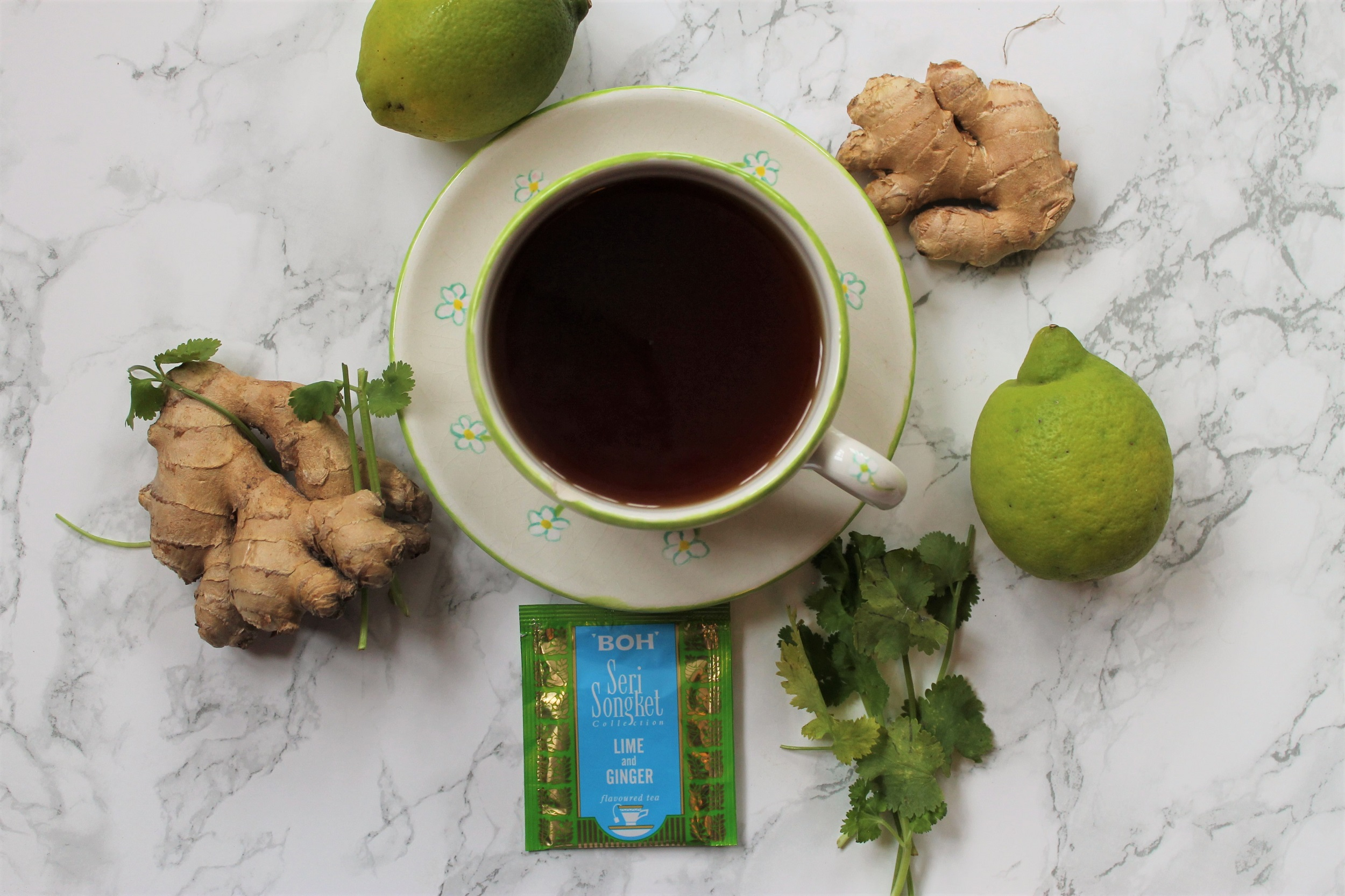 BOH Lime and Ginger Tea Review