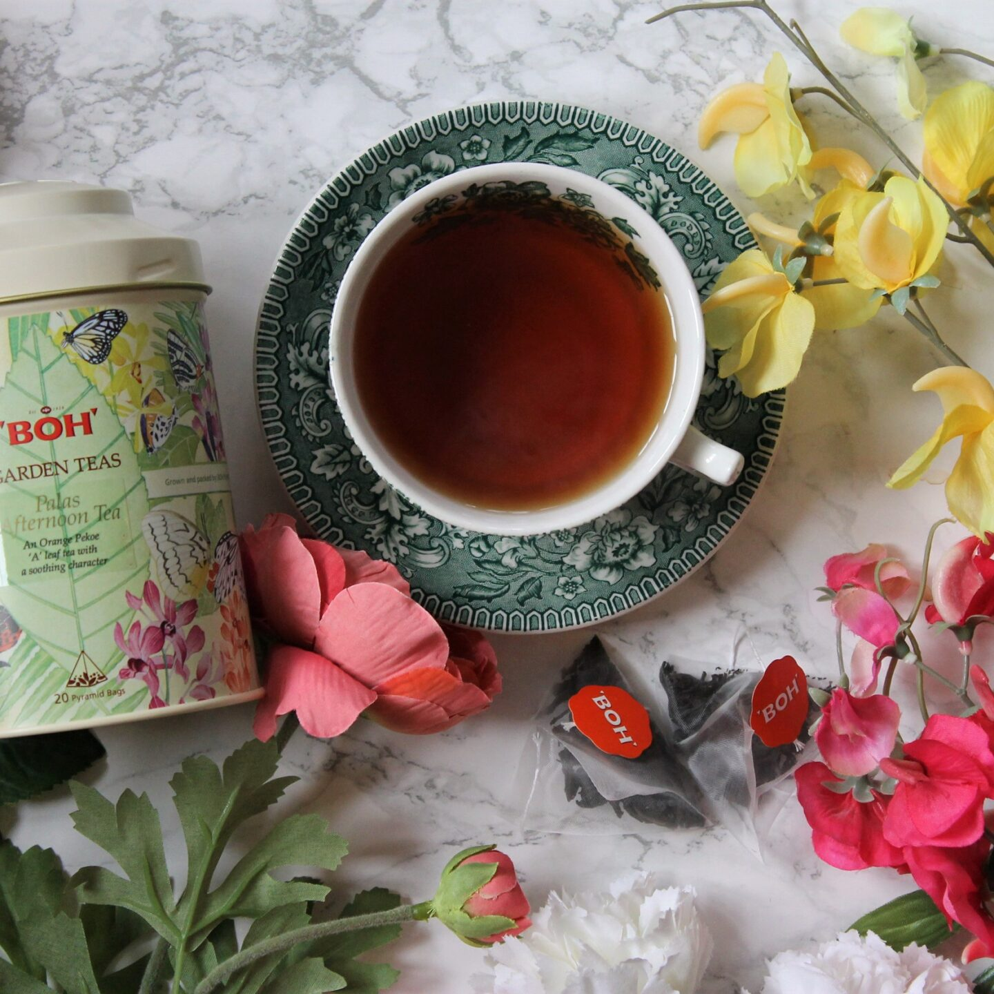 BOH Garden Teas – Palas Afternoon Tea Review