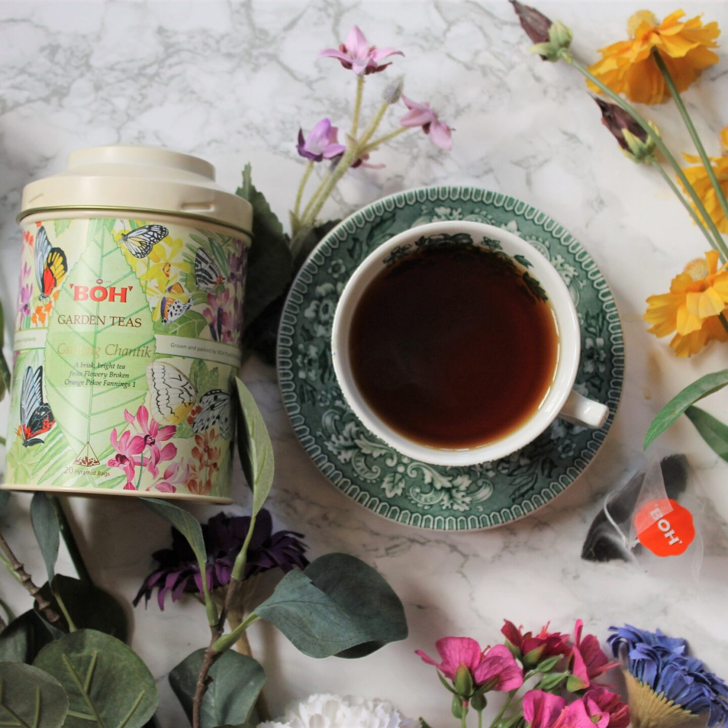 BOH Garden Teas – Gunung Chantik Tea Review