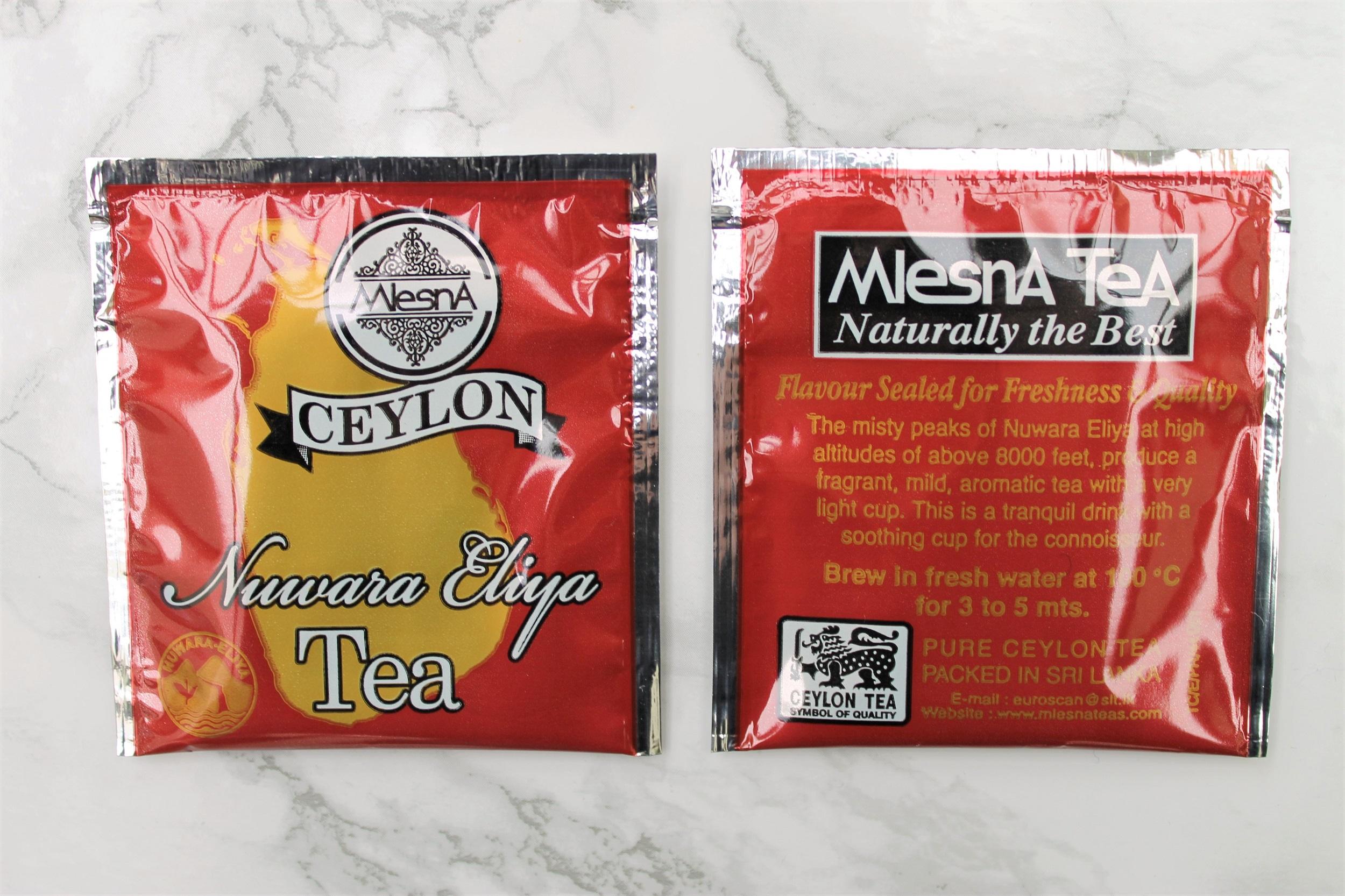 mlesna ceylon black tea bag