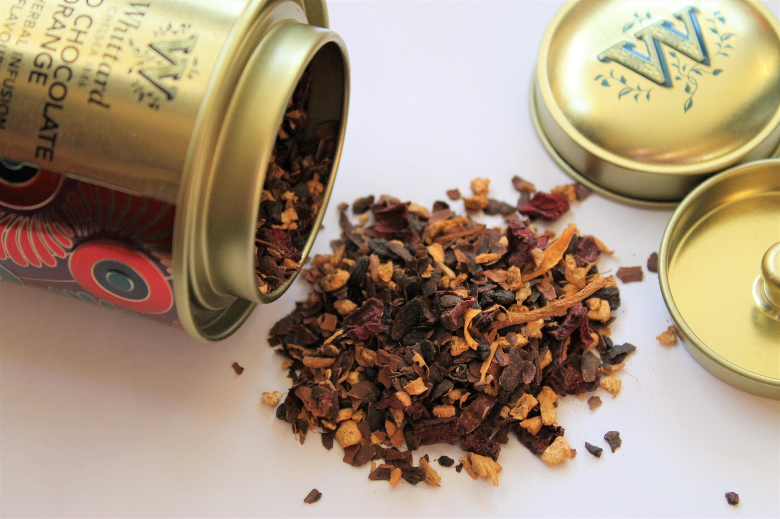 whittard spiced chocolate orange loose leaf tea