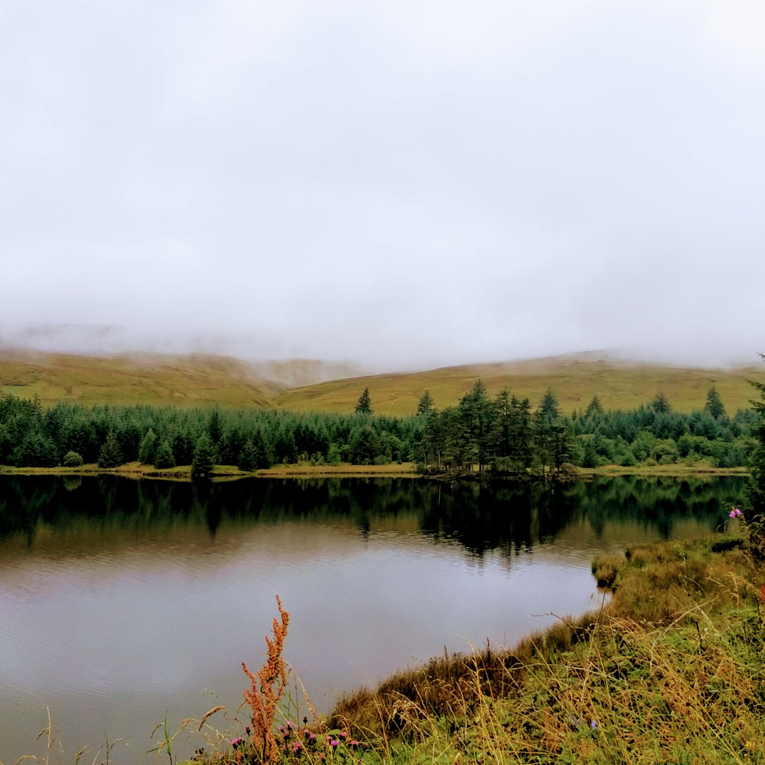 lake in snowdonia national park