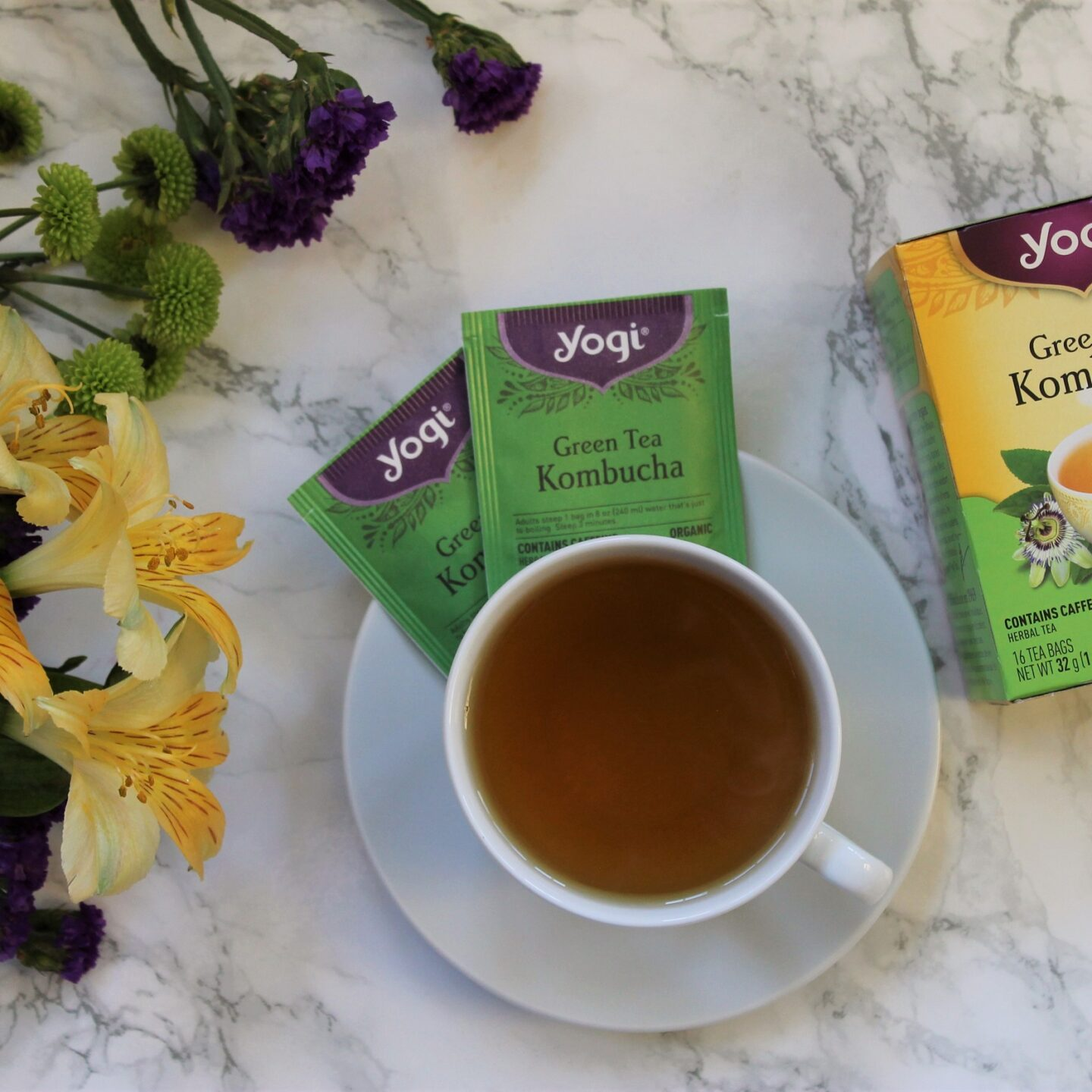 Yogi Tea Green Tea Kombucha Review