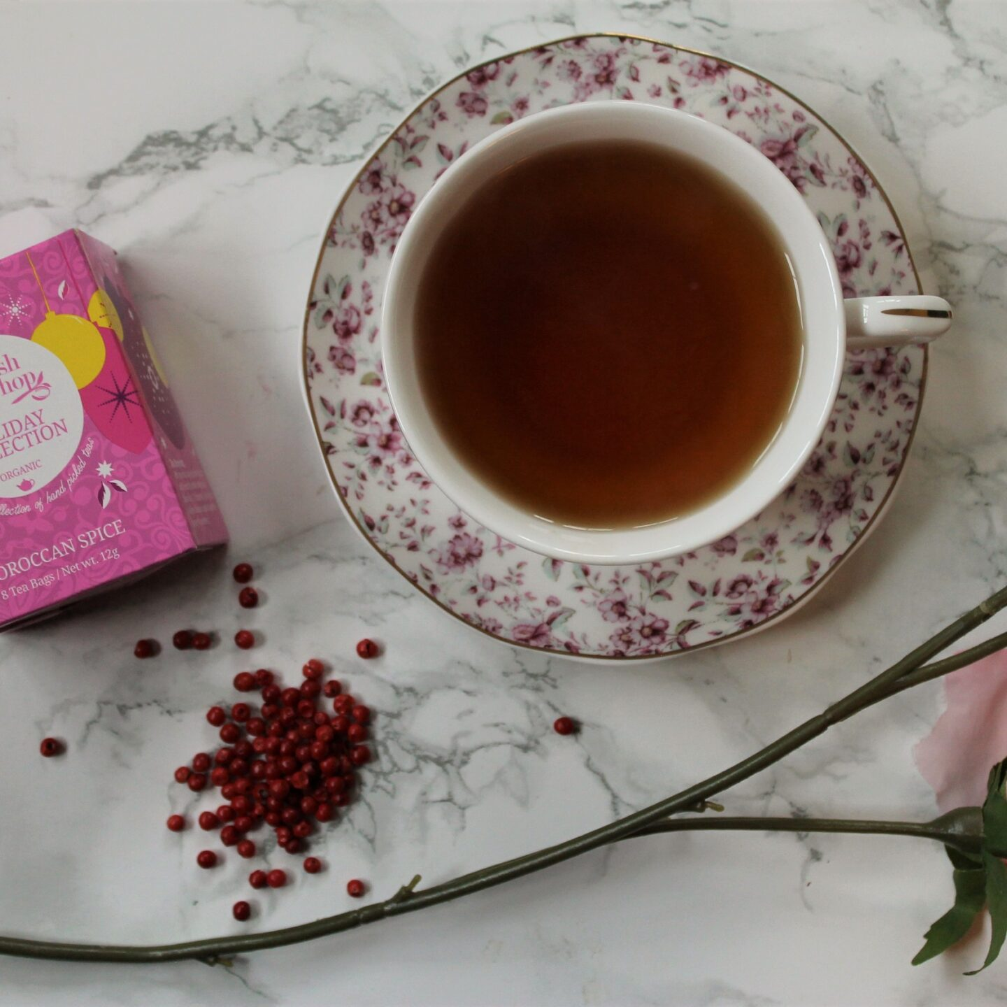 English Tea Shop Moroccan Spice Herbal Tea Review