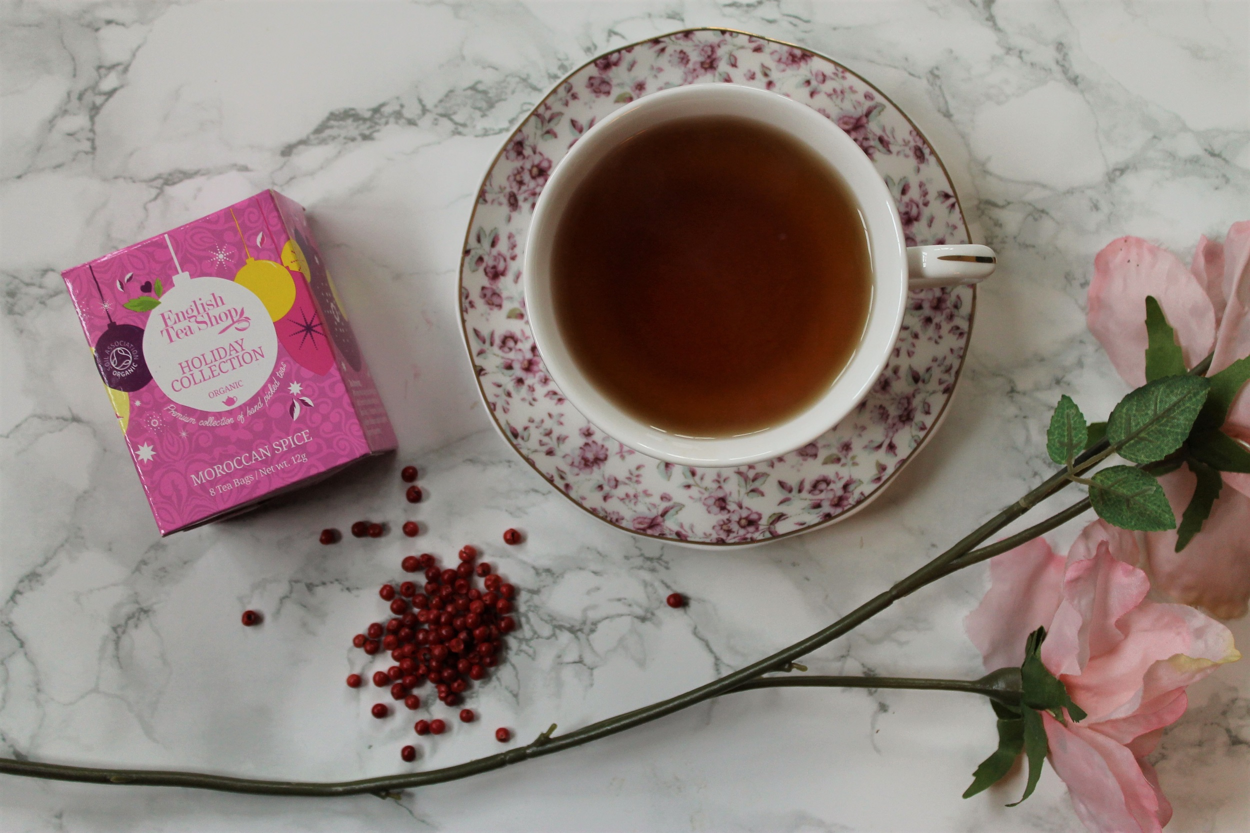 English Tea Shop Moroccan Spice Herbal Tea Review