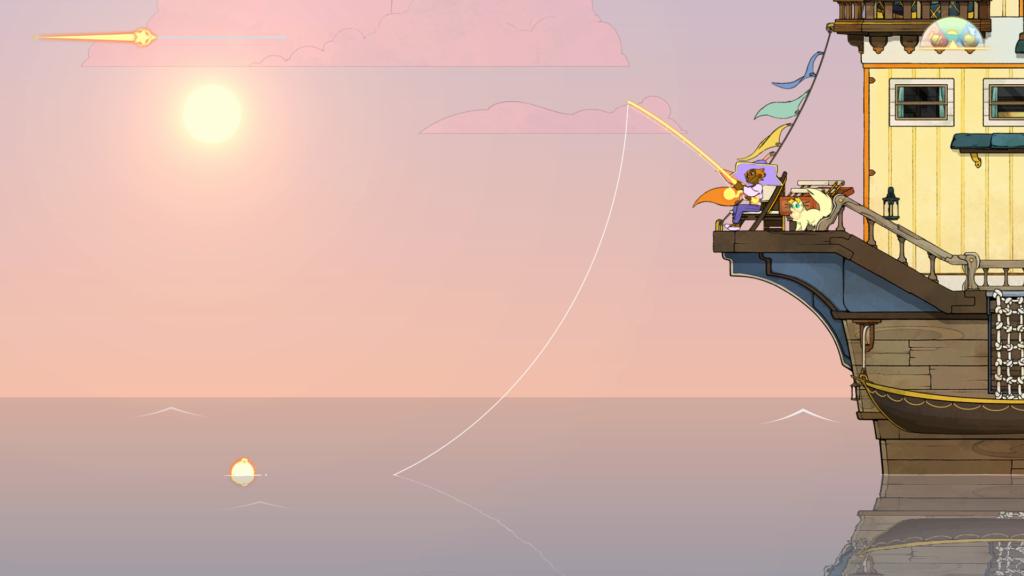 fishing in spiritfarer