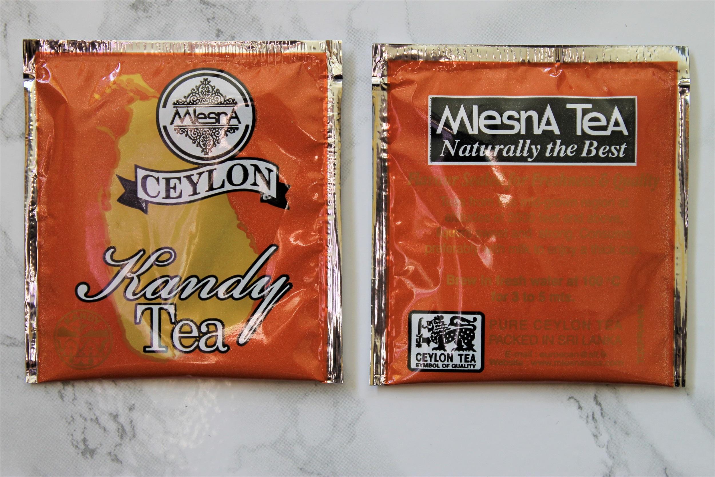 mlesna ceylon kandy tea bags
