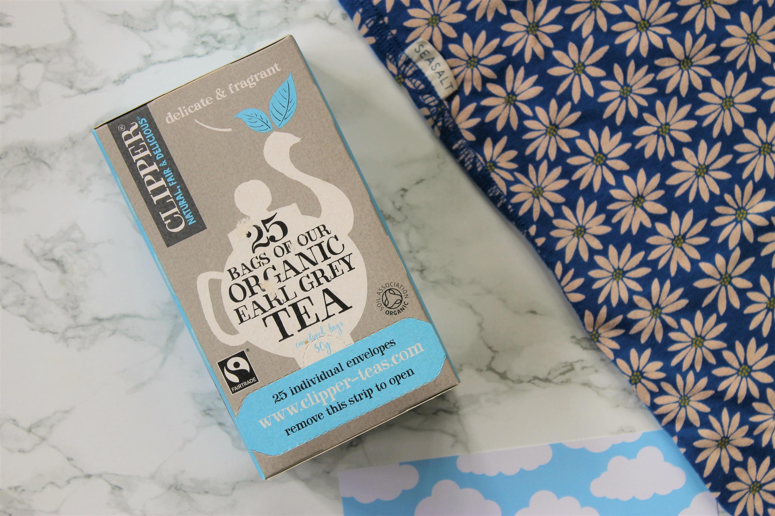 clipper earl grey teabags box