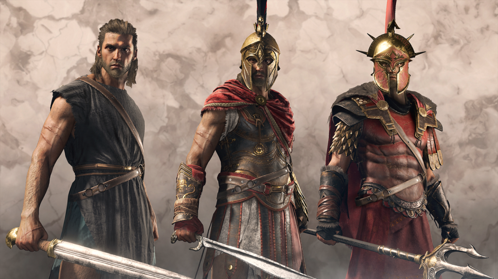 assassins odyssey characters