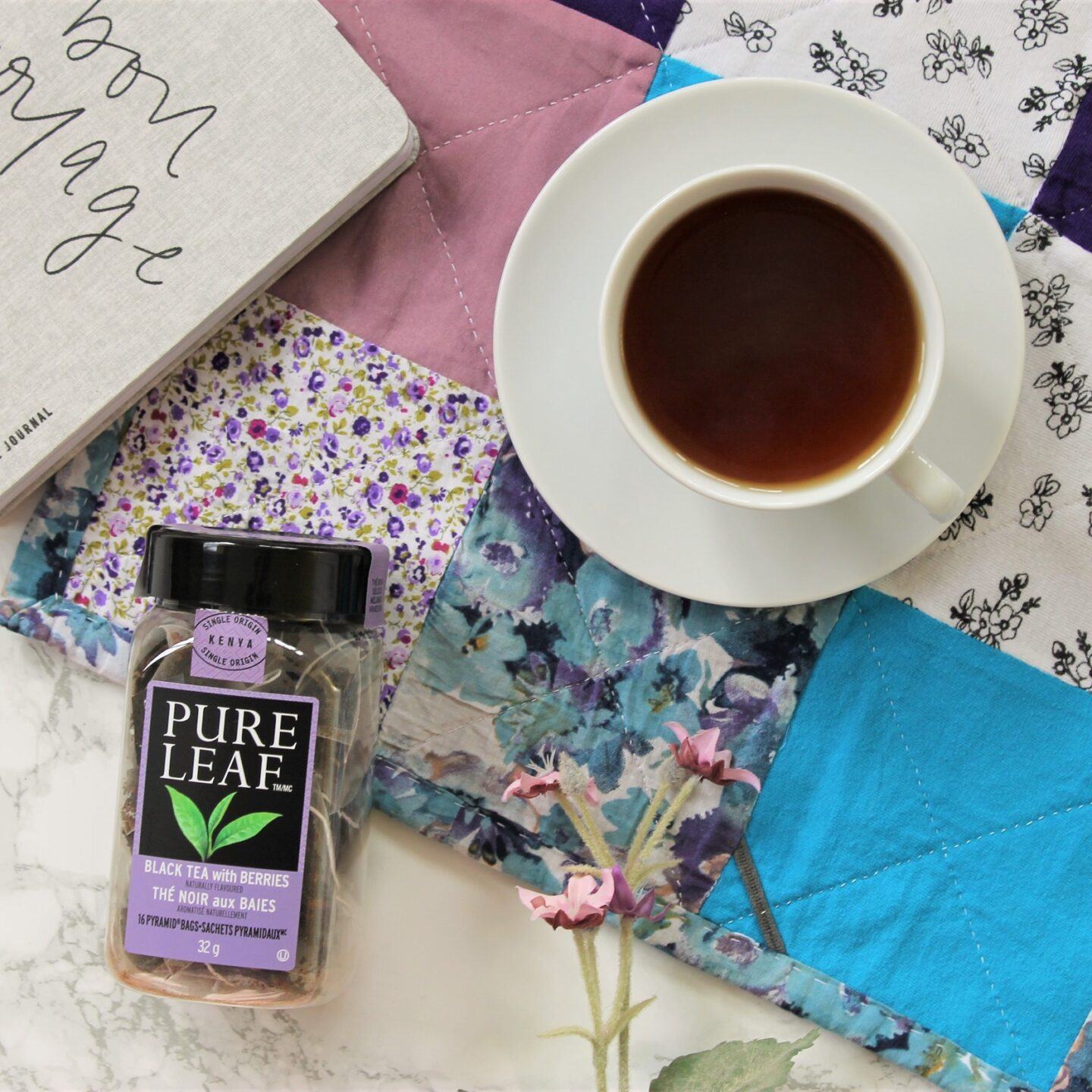 Pure Leaf Black Tea with Berries Review