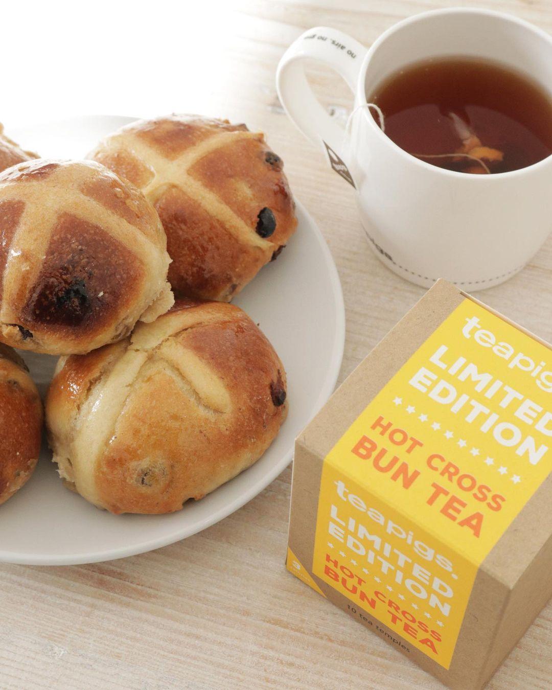 teapigs hot cross bun tea