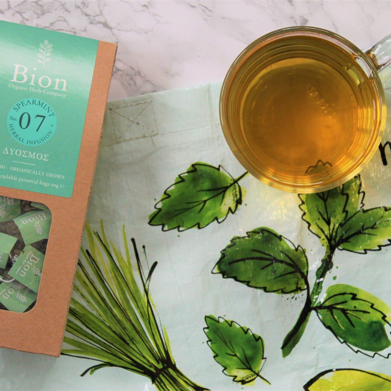 Bion Spearmint Herbal Tea Review