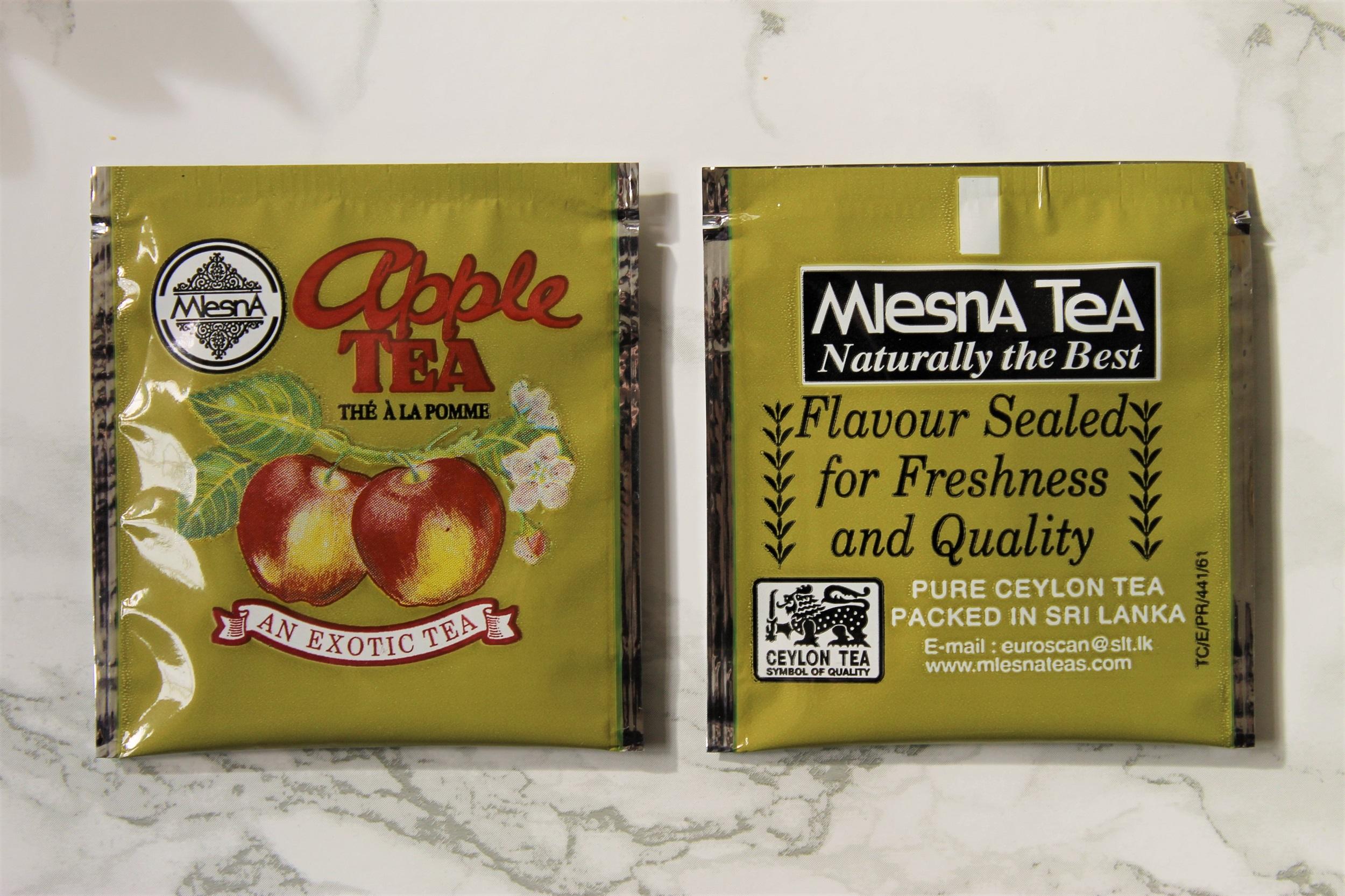 mlesna ceylon apple teabag wrappers