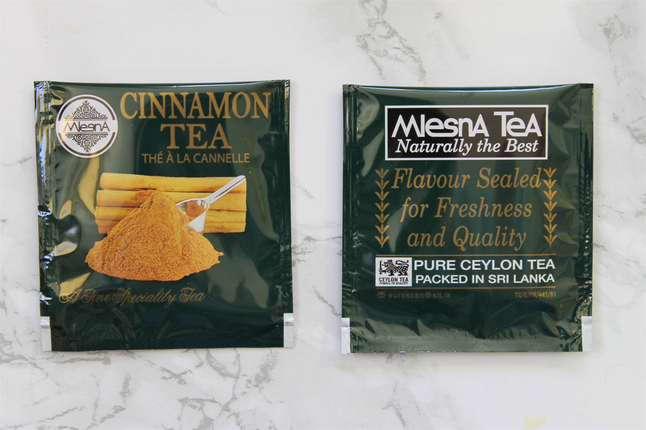 mlesna cinnamon teabag wrappers