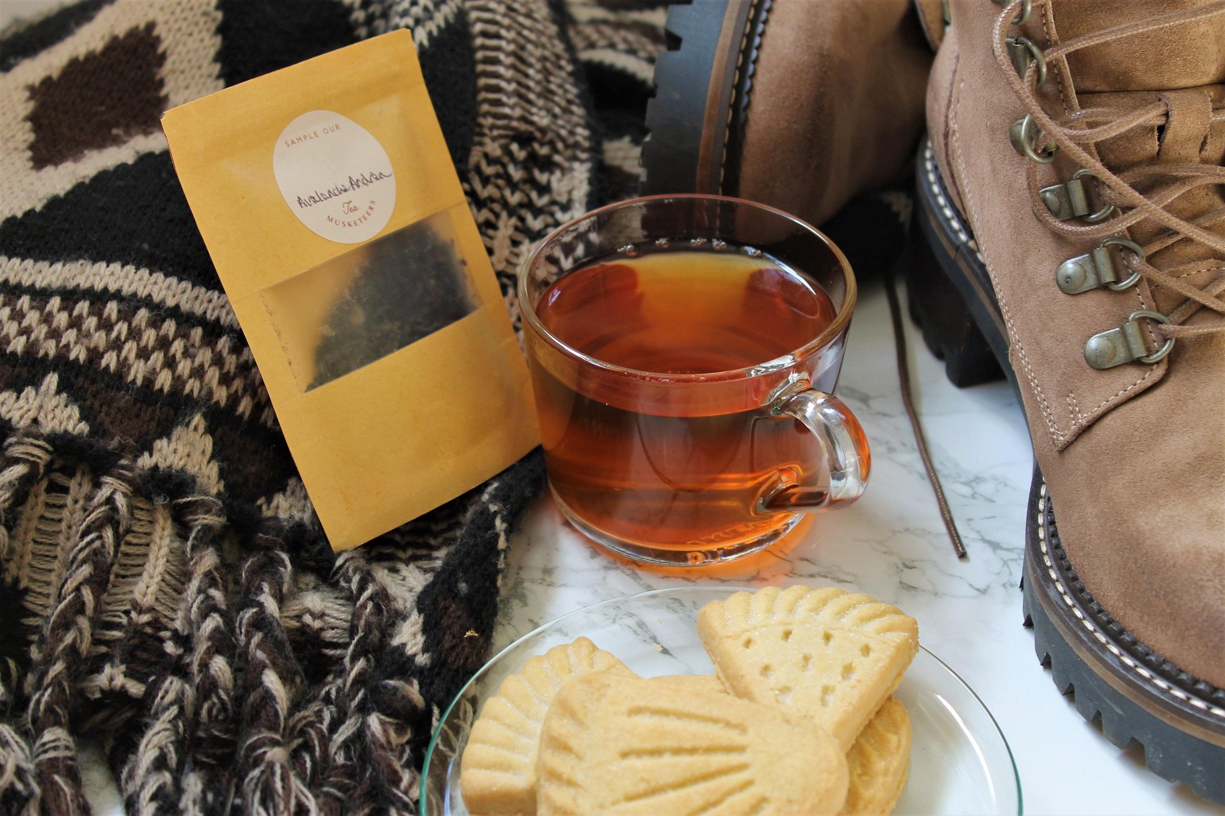 chocolate smoky tea