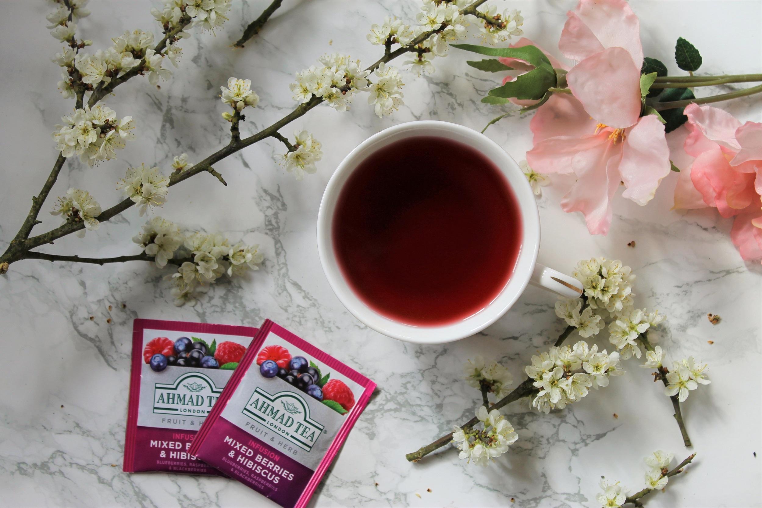 Ahmad Mixed Berries & Hibiscus Tea Review