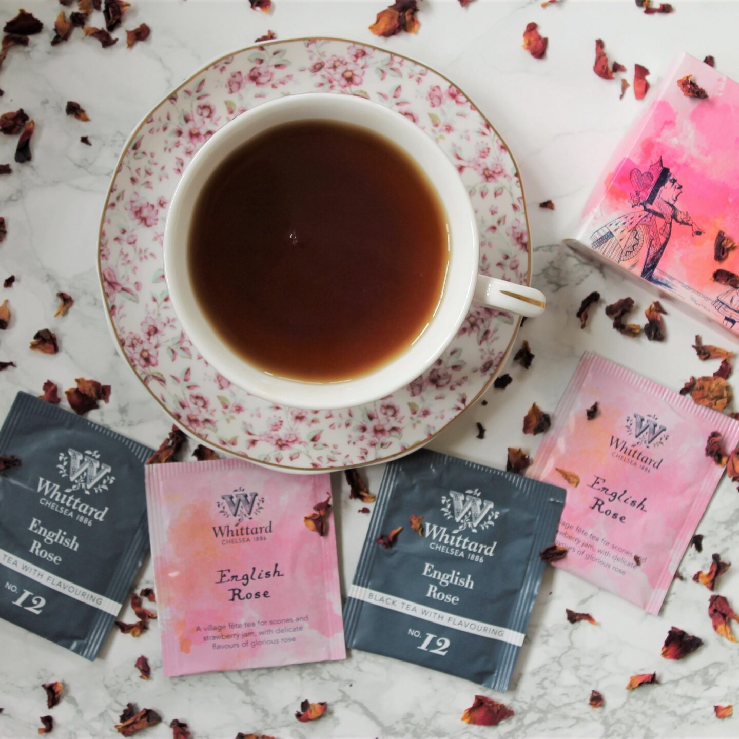 Whittard English Rose Black Tea Review